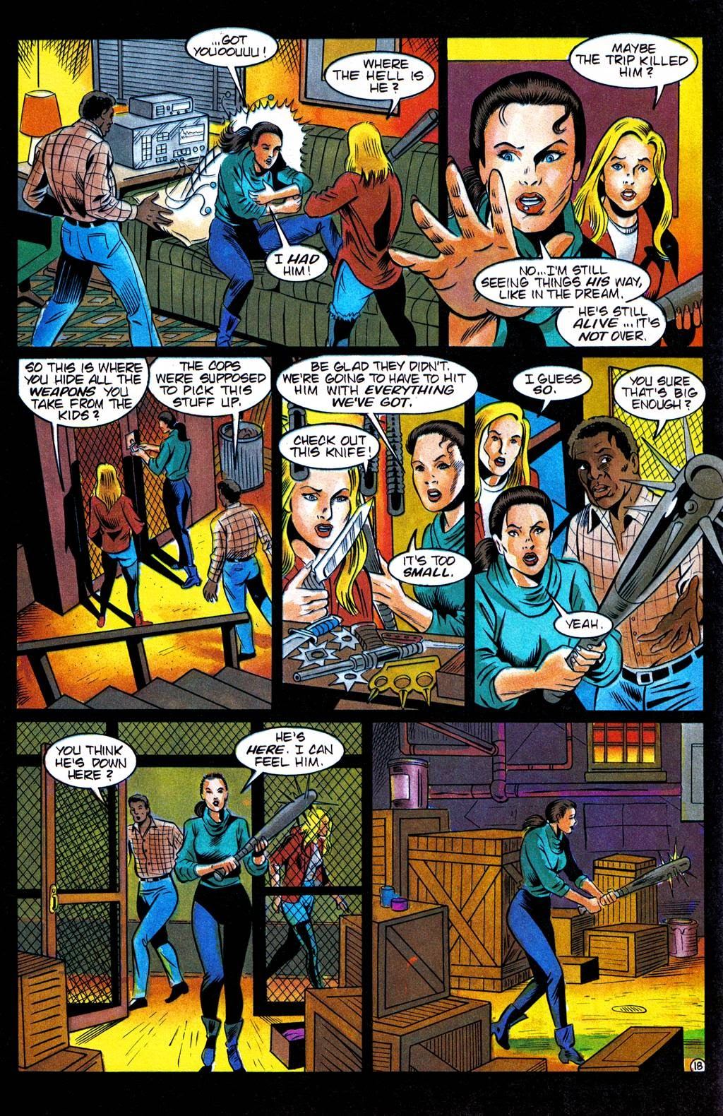 Read online Freddy's Dead: The Final Nightmare comic -  Issue #3 - 21