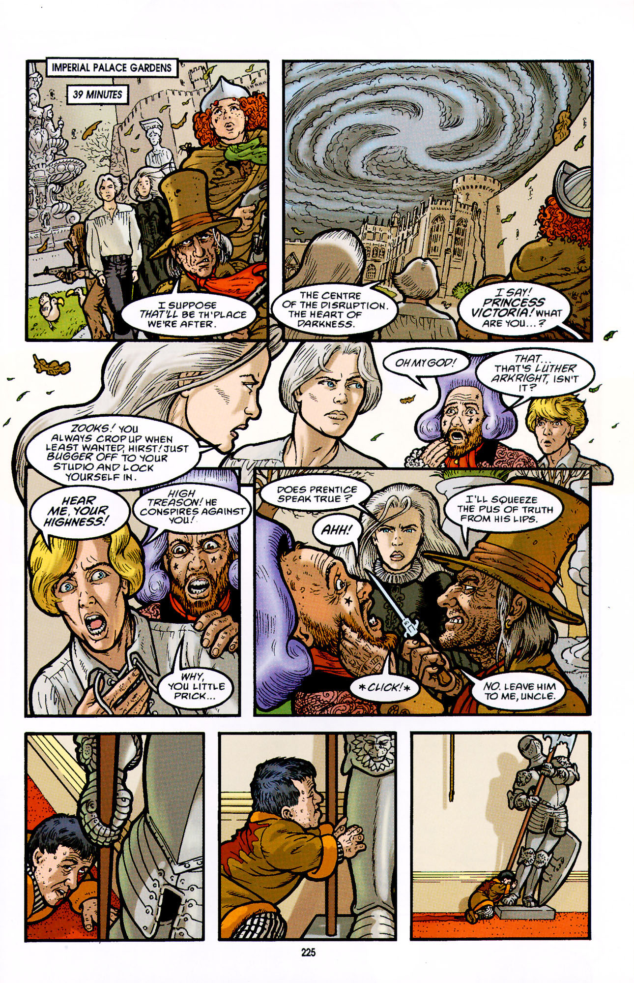 Read online Heart of Empire comic -  Issue #7 - 31