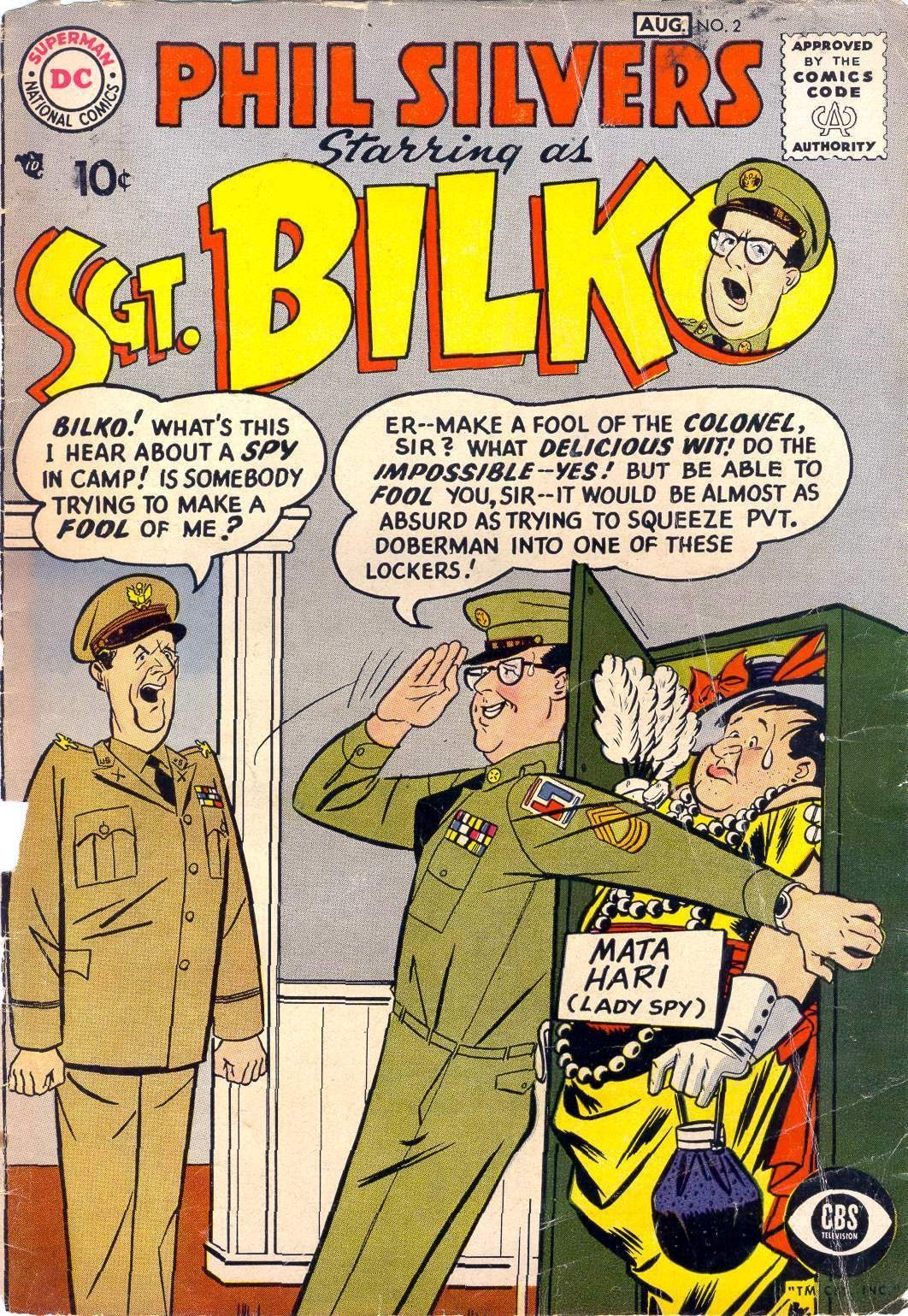 Sergeant Bilko issue 2 - Page 1