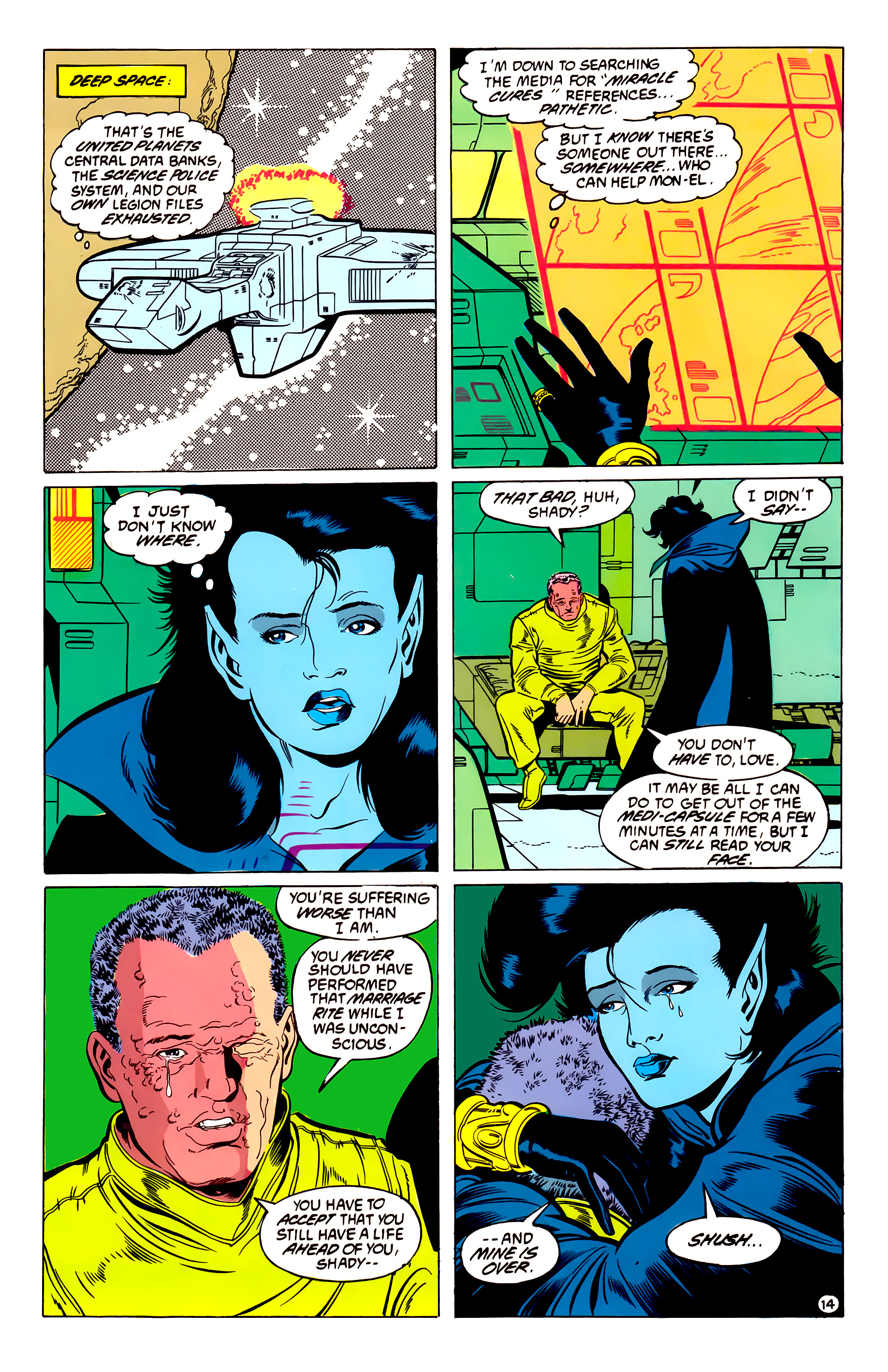 Legion of Super-Heroes (1984) 54 Page 14