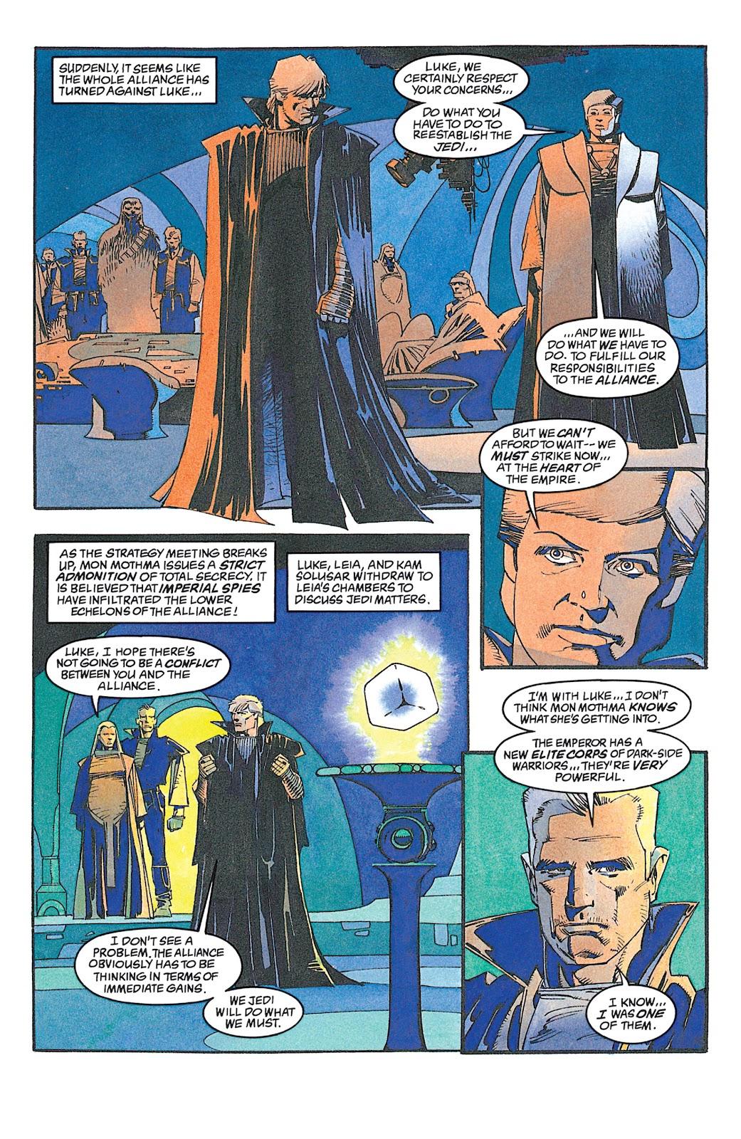 Read online Star Wars: Dark Empire Trilogy comic -  Issue # TPB (Part 2) - 71