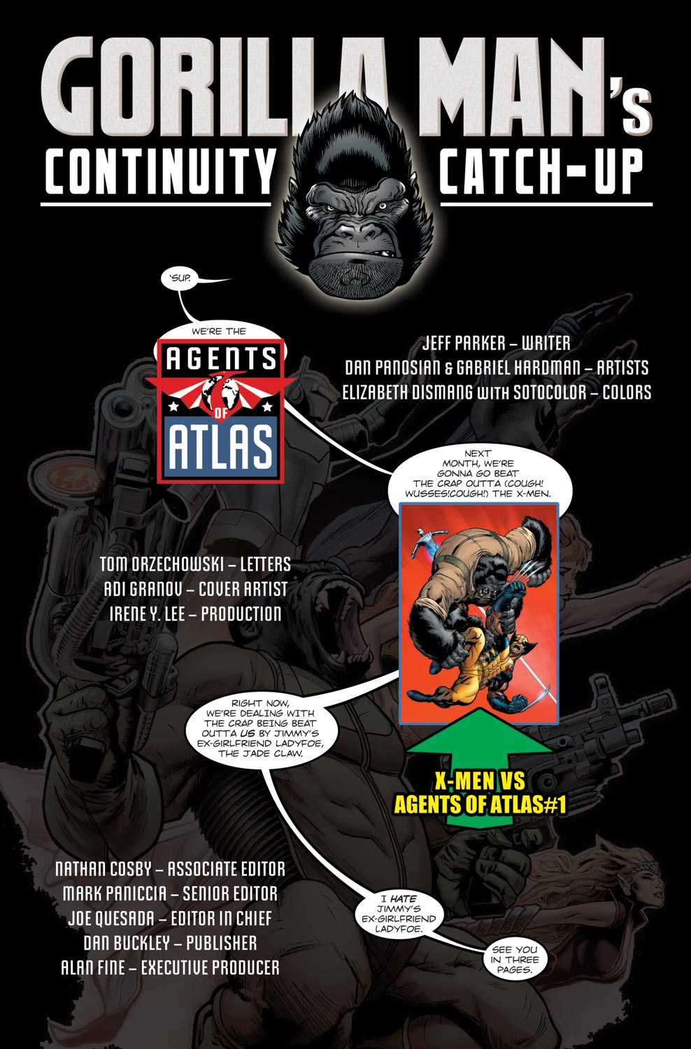 Read online Agents Of Atlas (2009) comic -  Issue #11 - 2