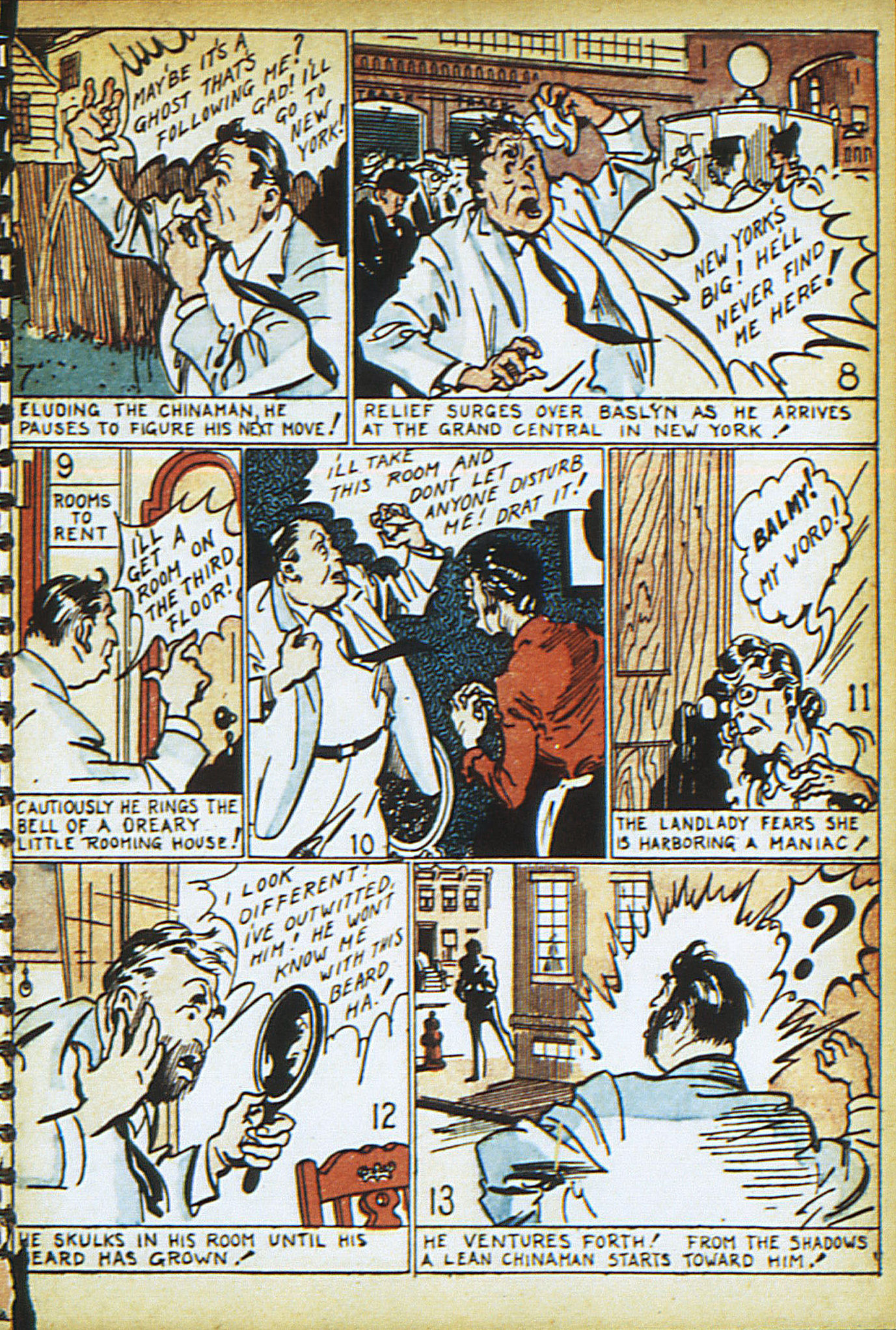 Read online Adventure Comics (1938) comic -  Issue #13 - 17
