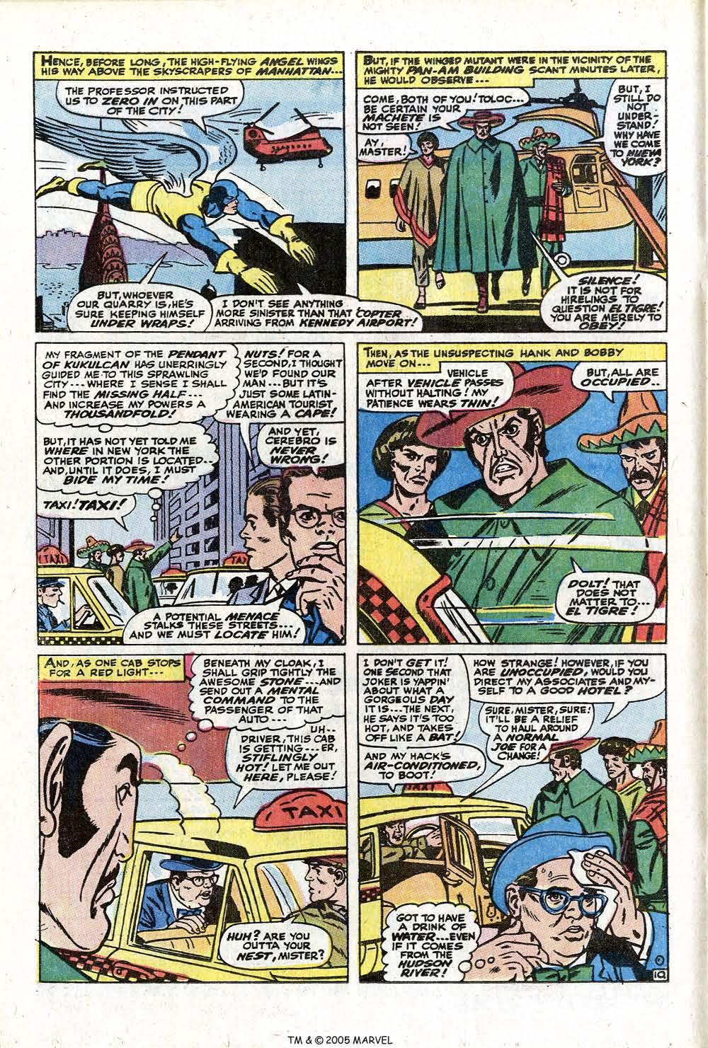 Read online Uncanny X-Men (1963) comic -  Issue #73 - 16