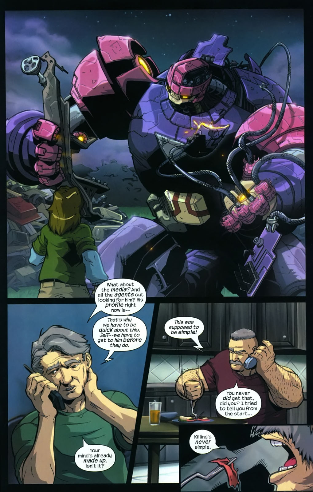 Read online Sentinel (2006) comic -  Issue #3 - 24