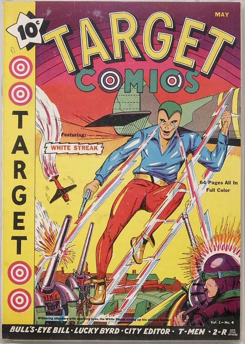 Target Comics 4 Page 1