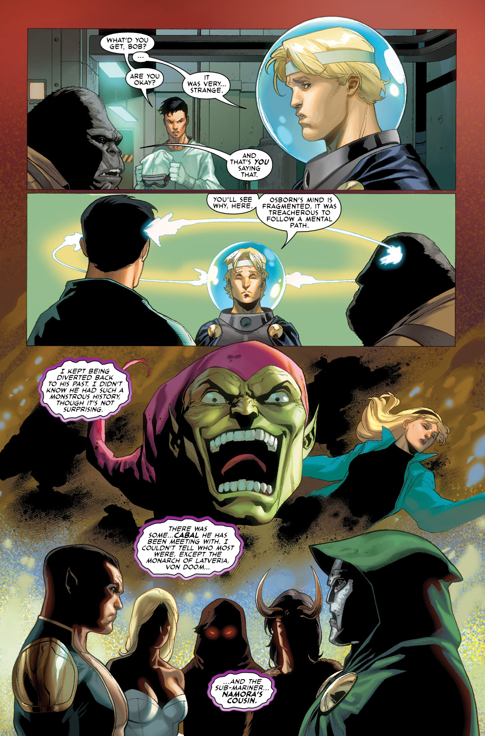 Read online Agents Of Atlas (2009) comic -  Issue #3 - 21