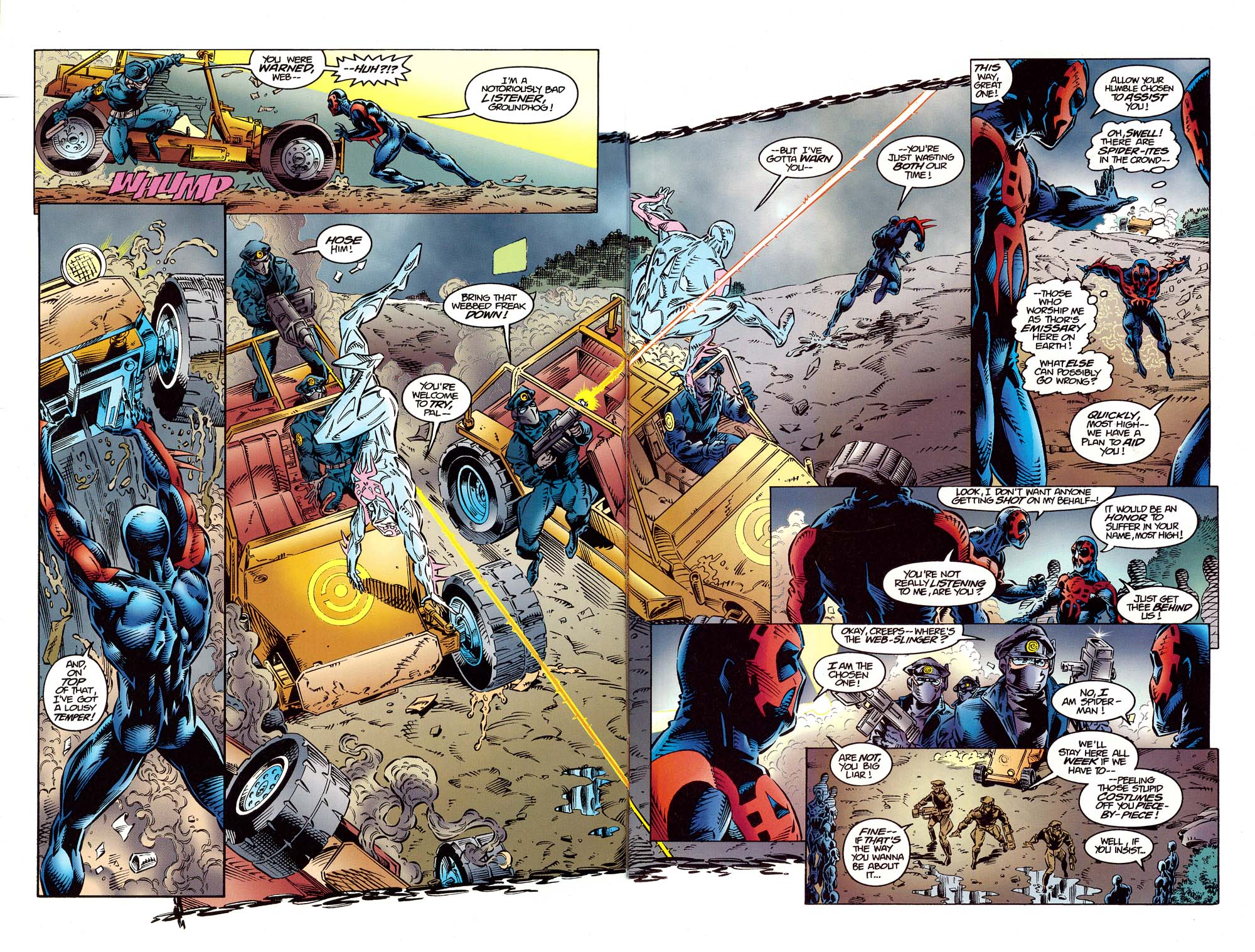 Read online 2099 Unlimited comic -  Issue #10 - 8