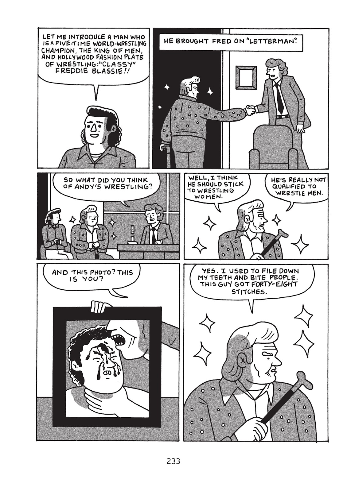 Read online Is This Guy For Real?: The Unbelievable Andy Kaufman comic -  Issue # TPB (Part 3) - 38