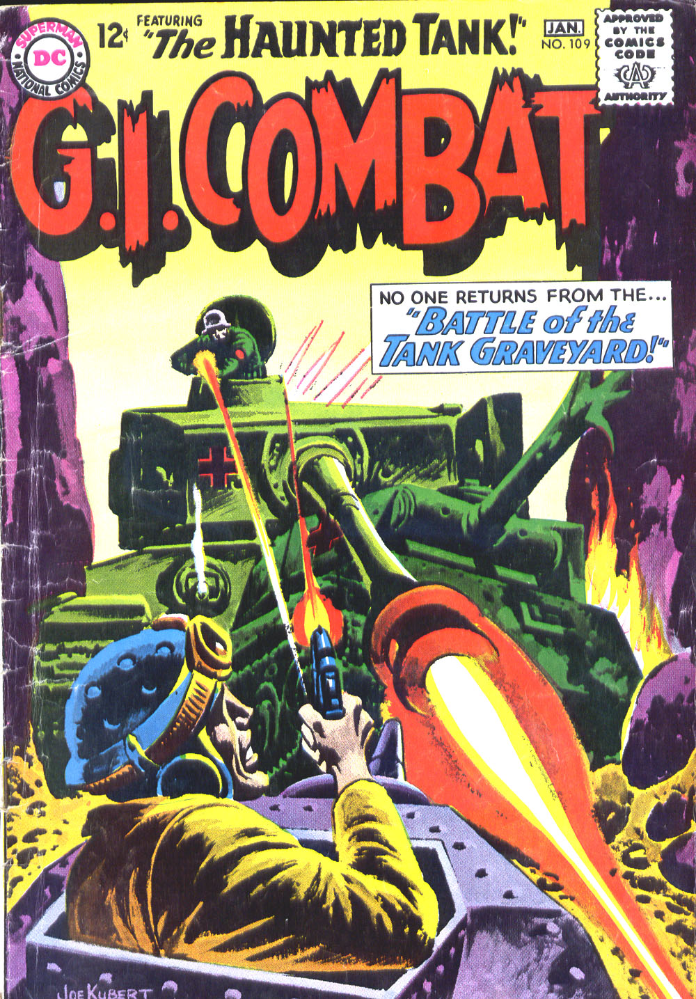 G.I. Combat (1952) issue 109 - Page 1