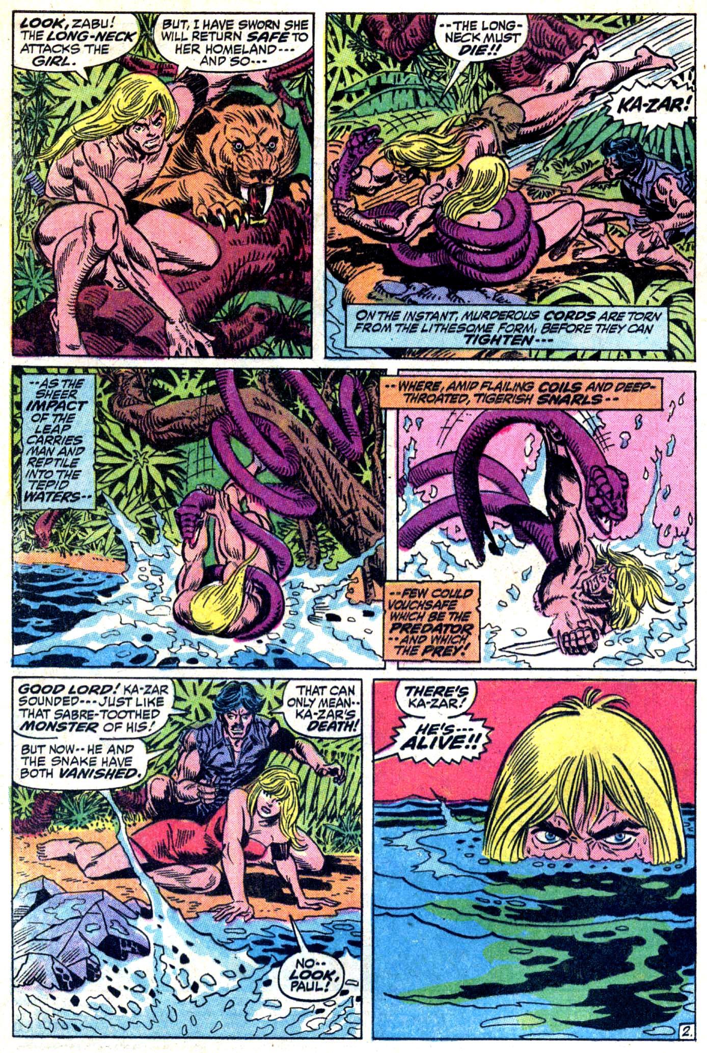 Read online Astonishing Tales (1970) comic -  Issue #11 - 3