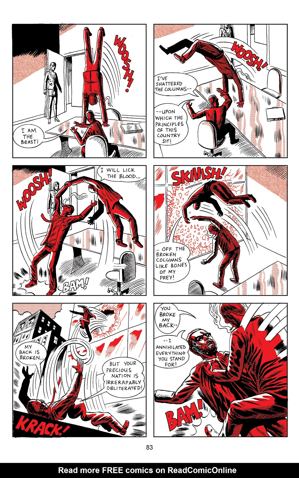 Read online Terror Assaulter: O.M.W.O.T (One Man War On Terror) comic -  Issue # TPB - 83