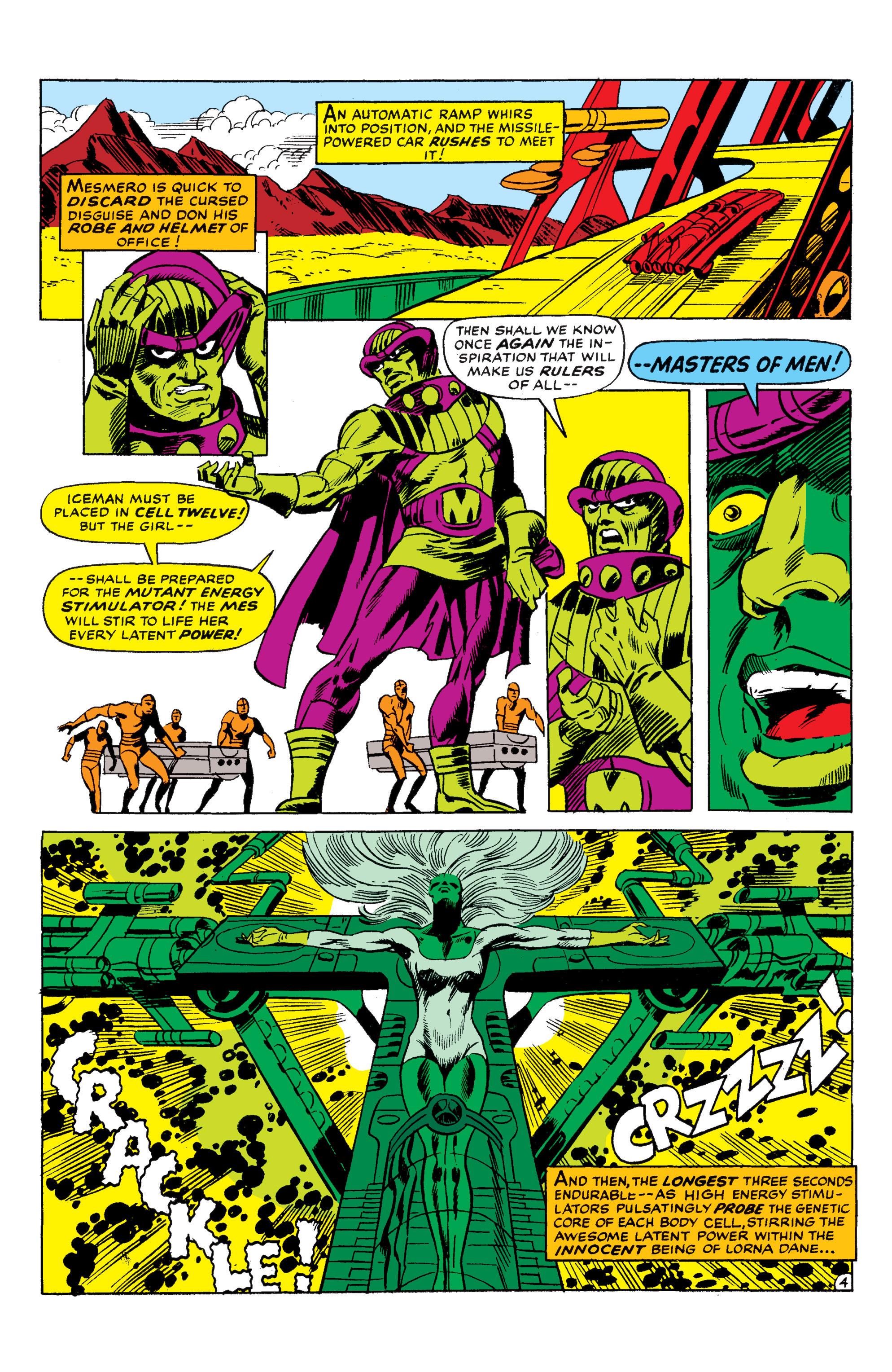 Read online Uncanny X-Men (1963) comic -  Issue #50 - 4