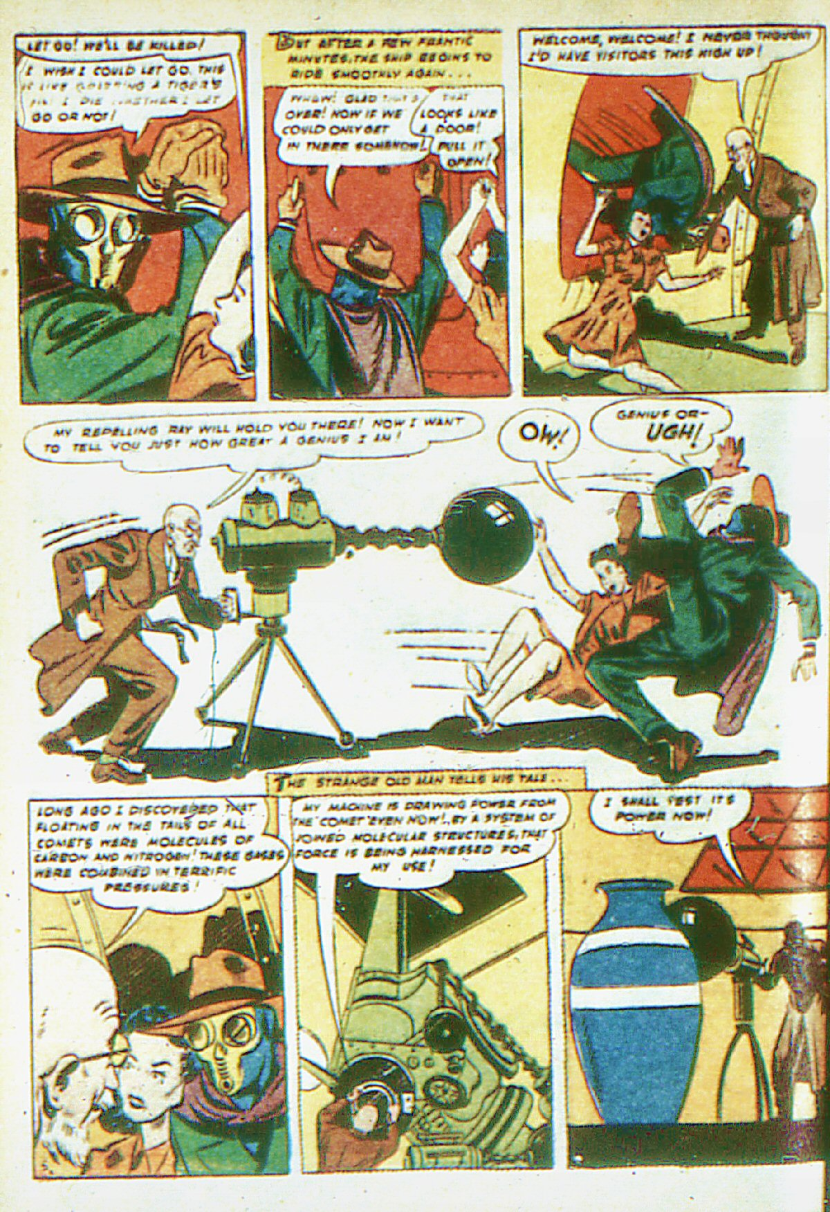 Read online Adventure Comics (1938) comic -  Issue #66 - 63