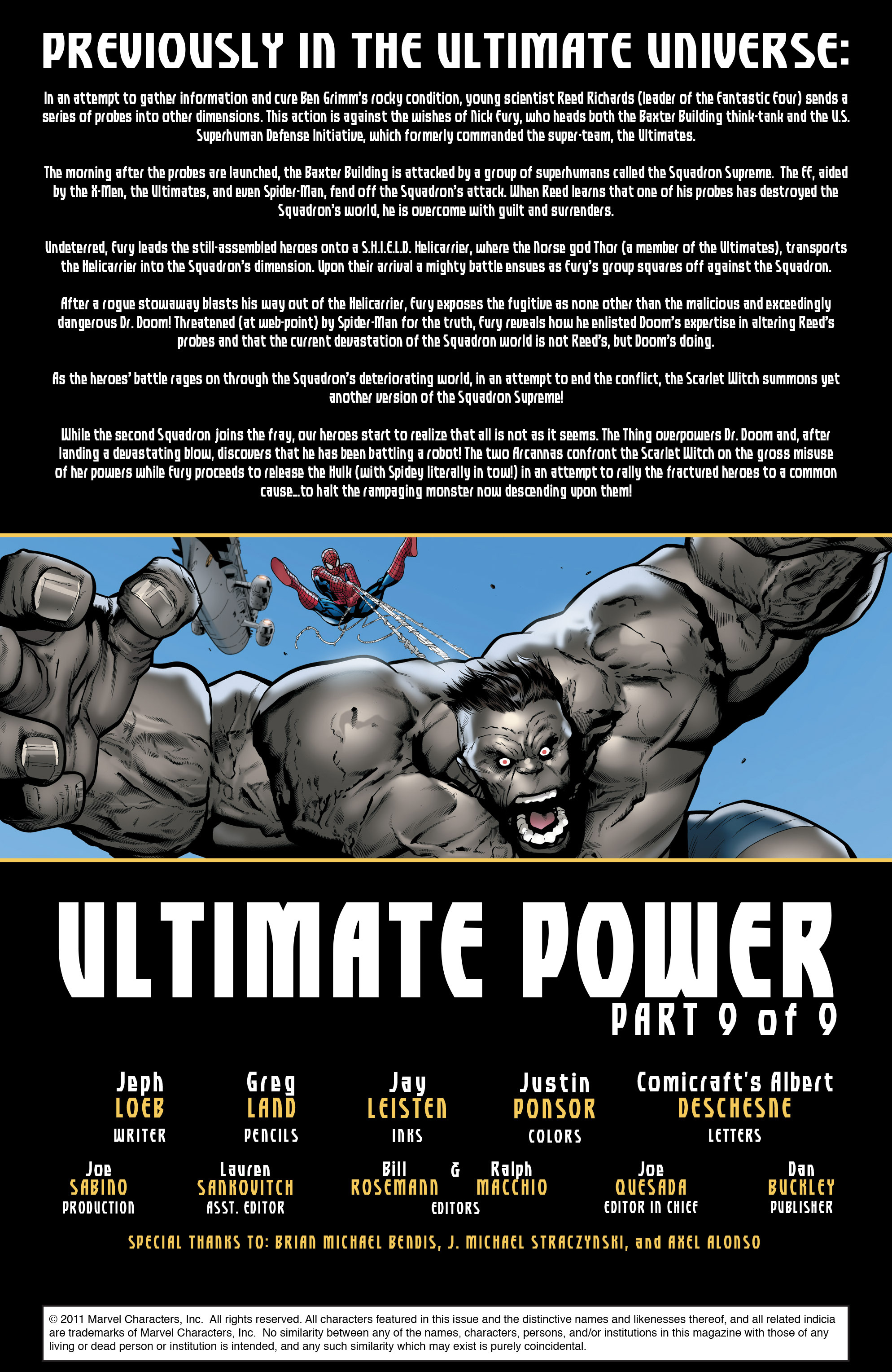 Read online Ultimate Power comic -  Issue #9 - 2