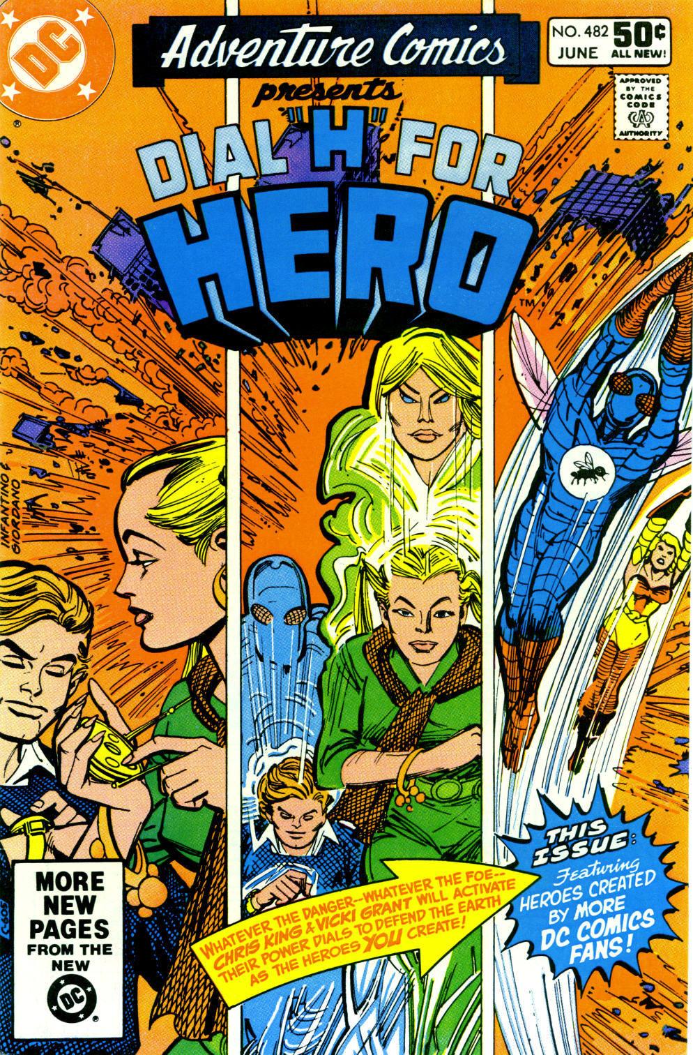 Read online Adventure Comics (1938) comic -  Issue #482 - 1