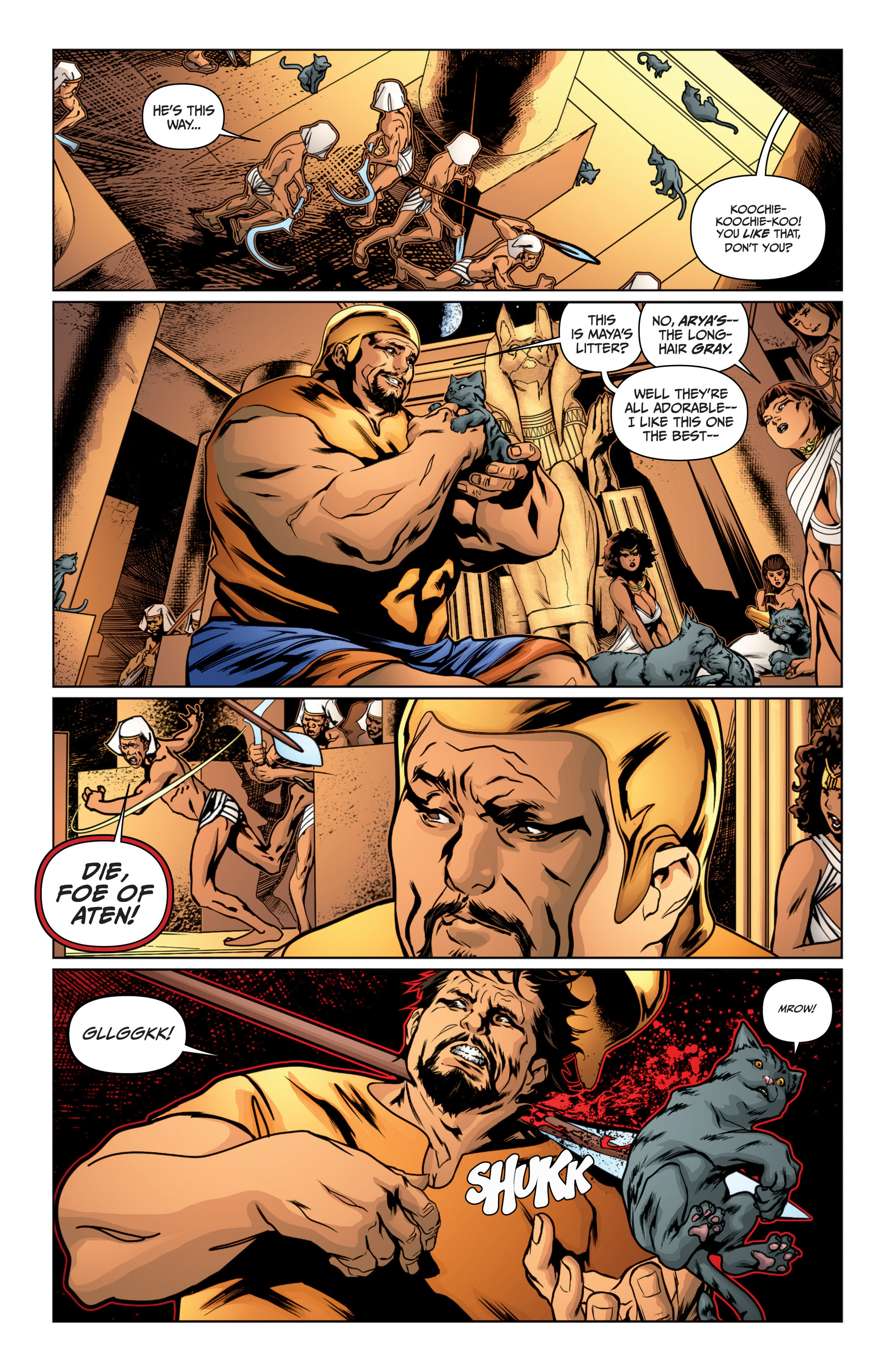 Read online Archer and Armstrong comic -  Issue #15 - 5