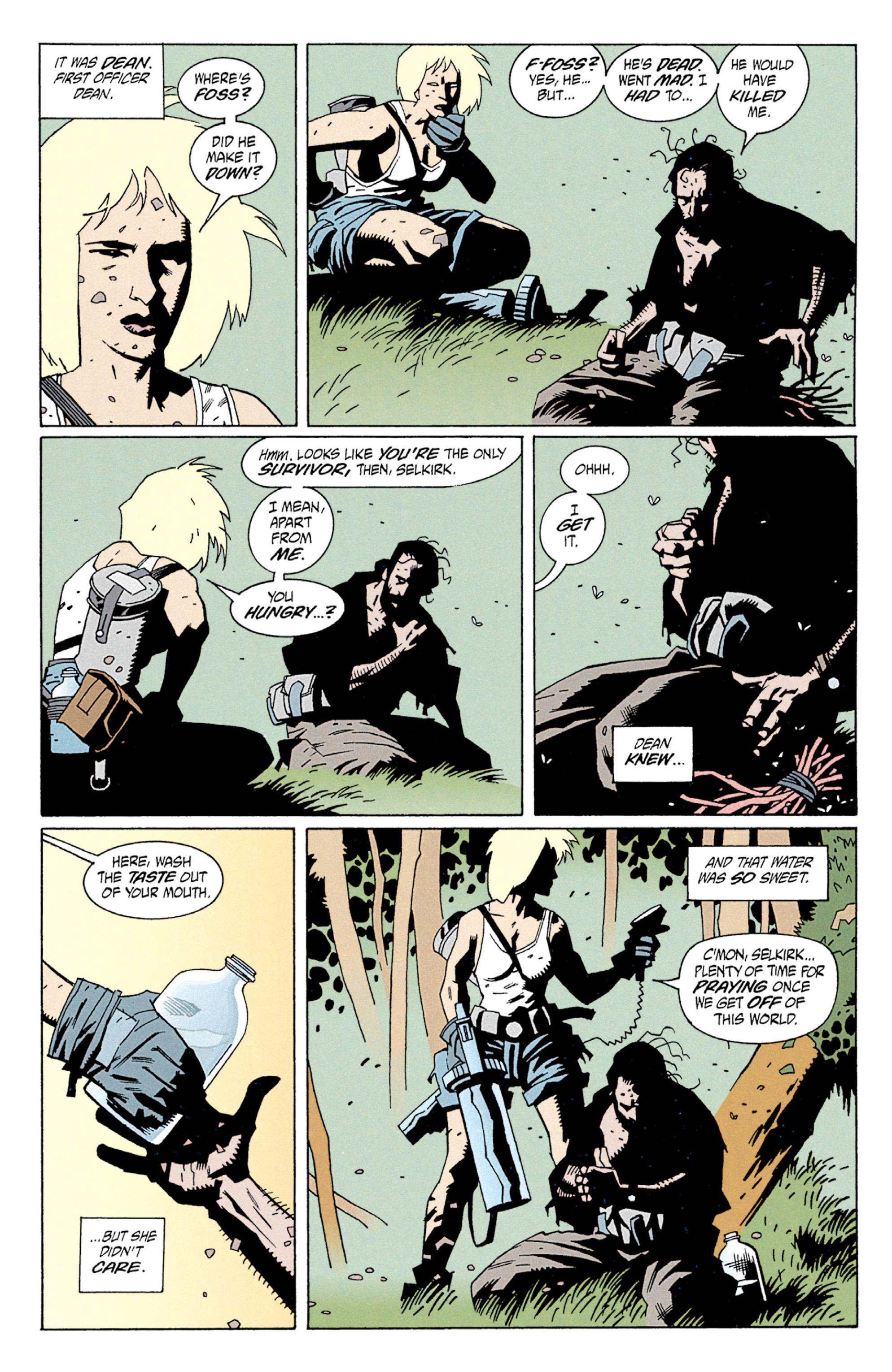 Read online Aliens: Salvation comic -  Issue # TPB - 29