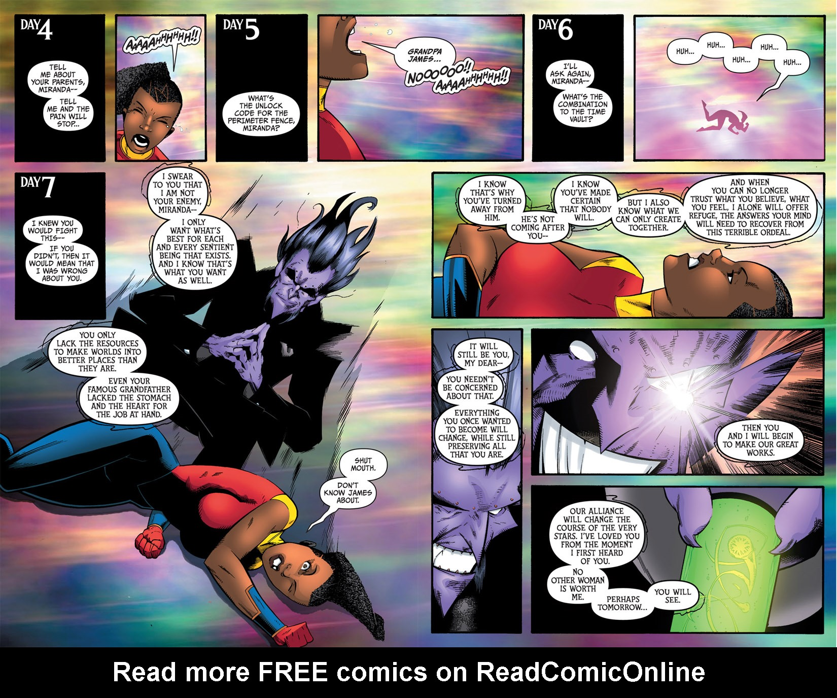 Read online The Many Adventures of Miranda Mercury: Time Runs Out comic -  Issue # TPB - 162