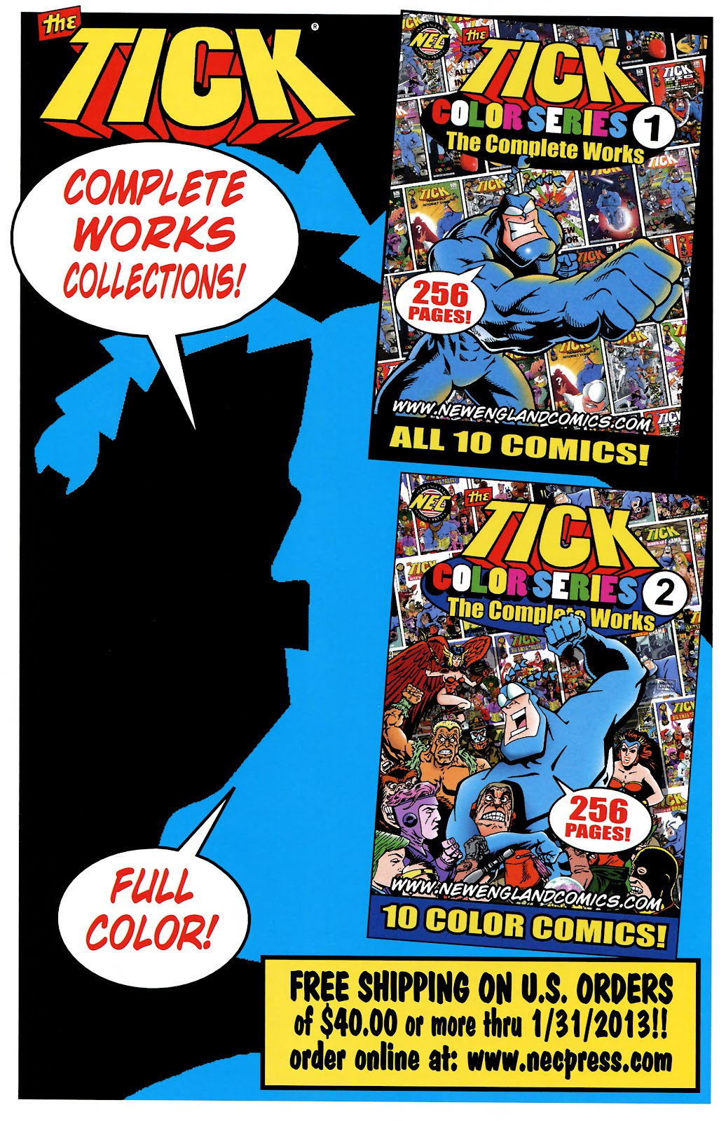 Read online The Tick comic -  Issue #101 - 44