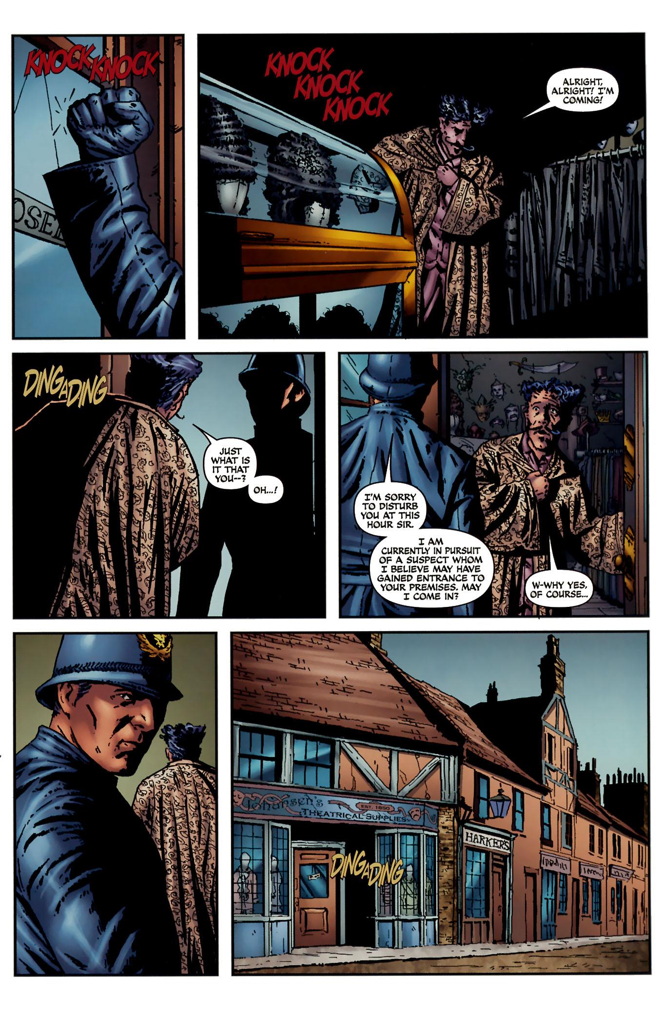 Read online Sherlock Holmes (2009) comic -  Issue #3 - 3