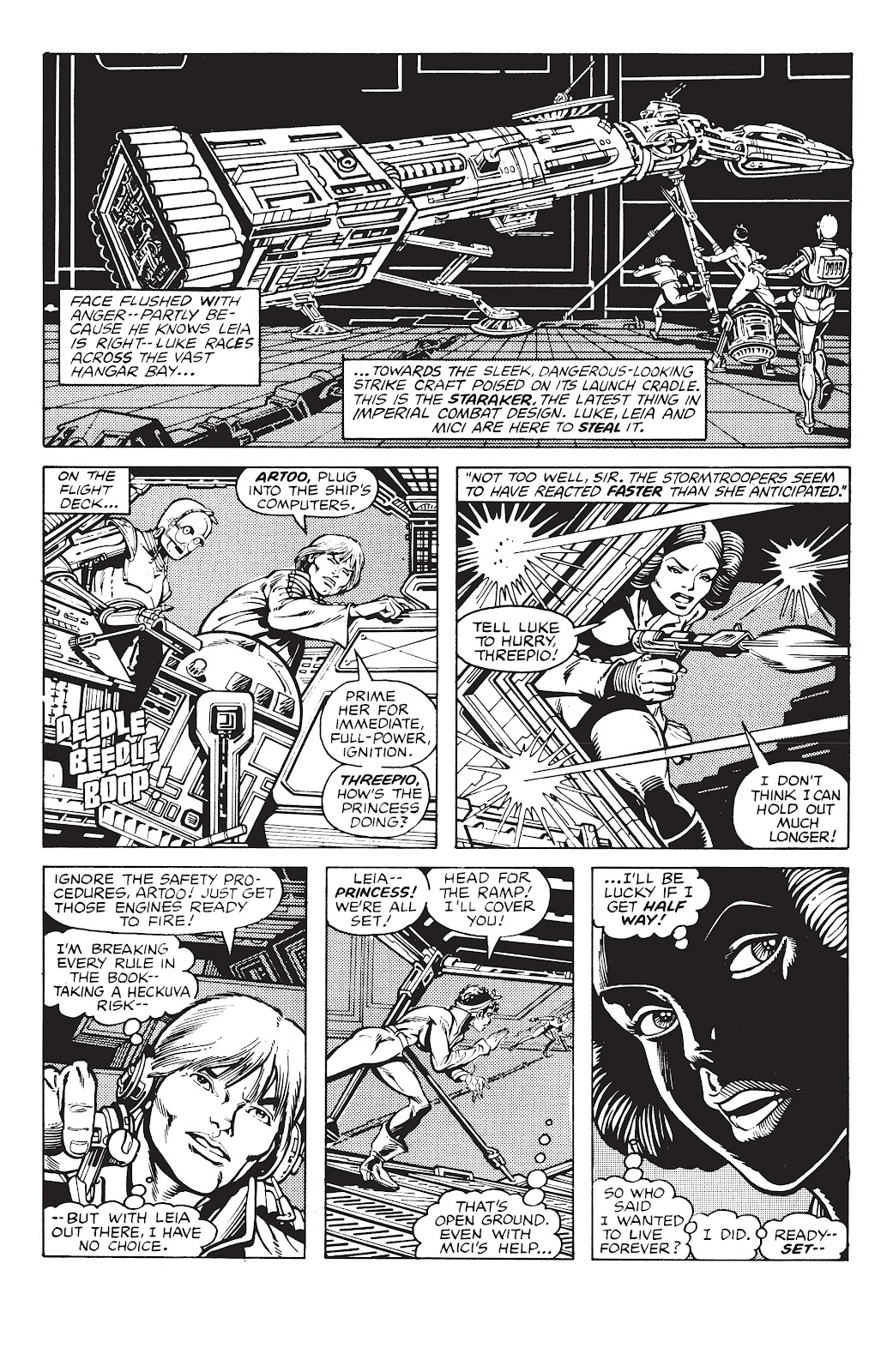 Read online Star Wars Legends: The Original Marvel Years - Epic Collection comic -  Issue # TPB 2 (Part 4) - 83
