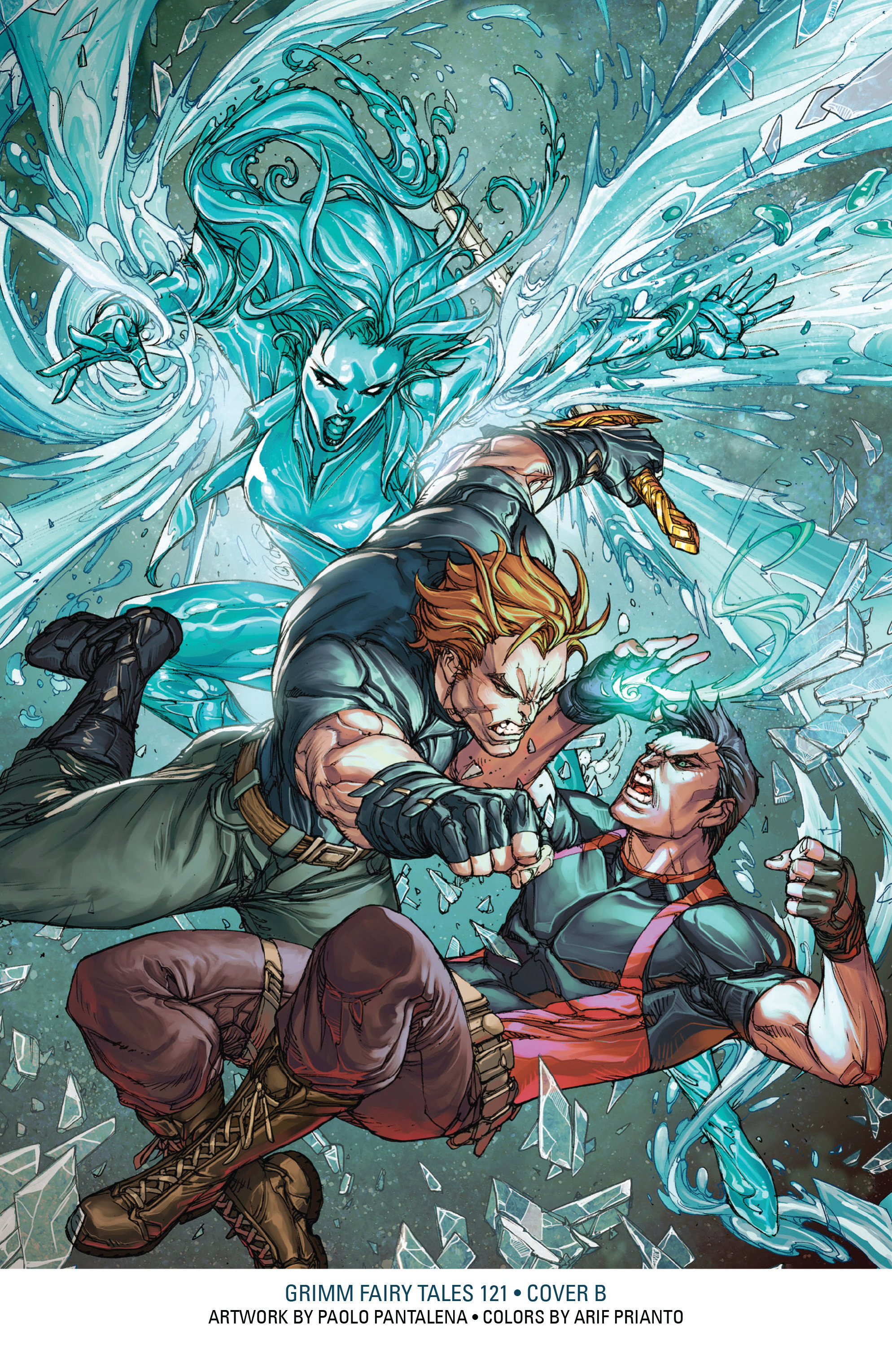 Read online Grimm Fairy Tales: Arcane Acre comic -  Issue # TPB 4 - 207