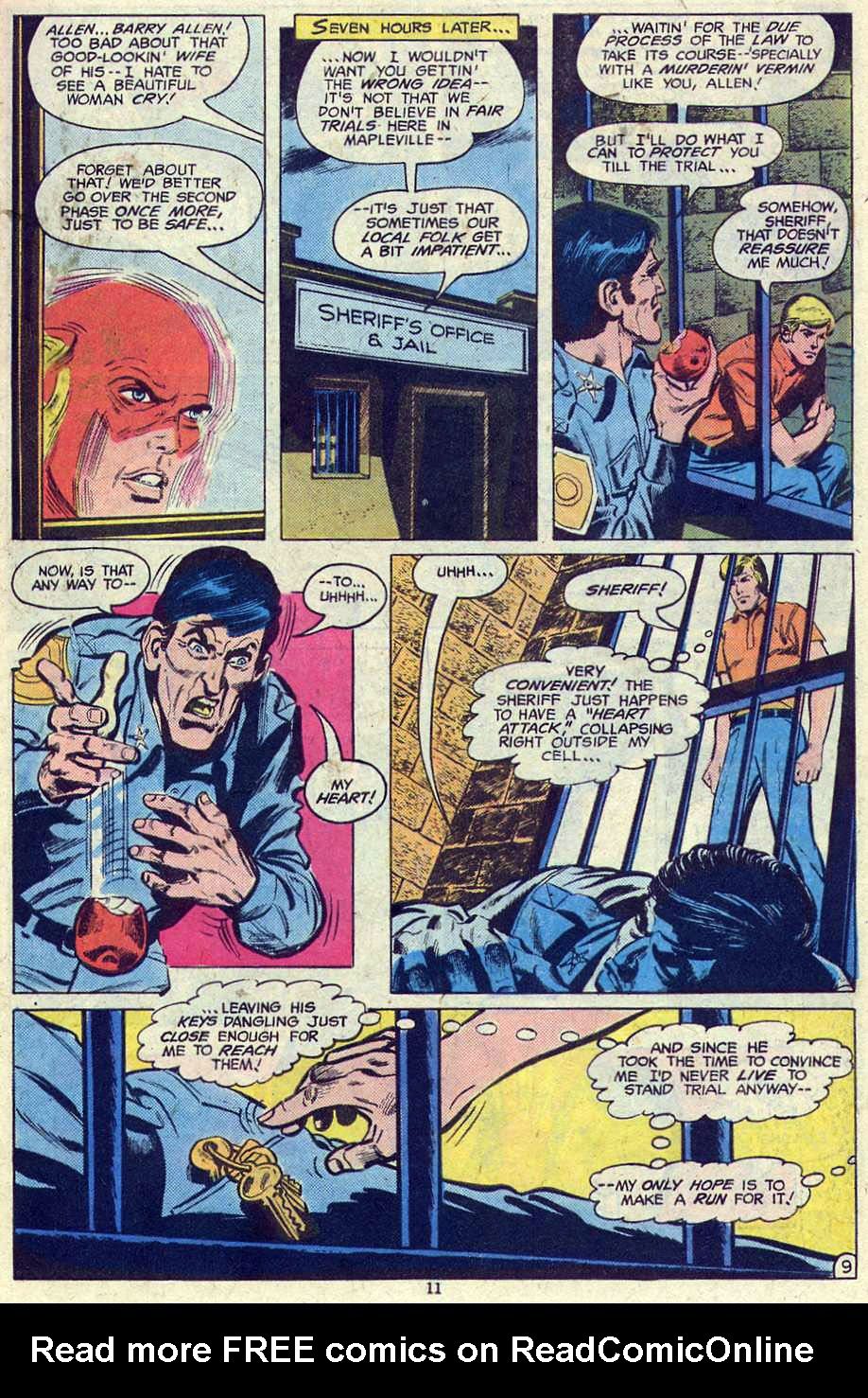 Read online Adventure Comics (1938) comic -  Issue #461 - 11