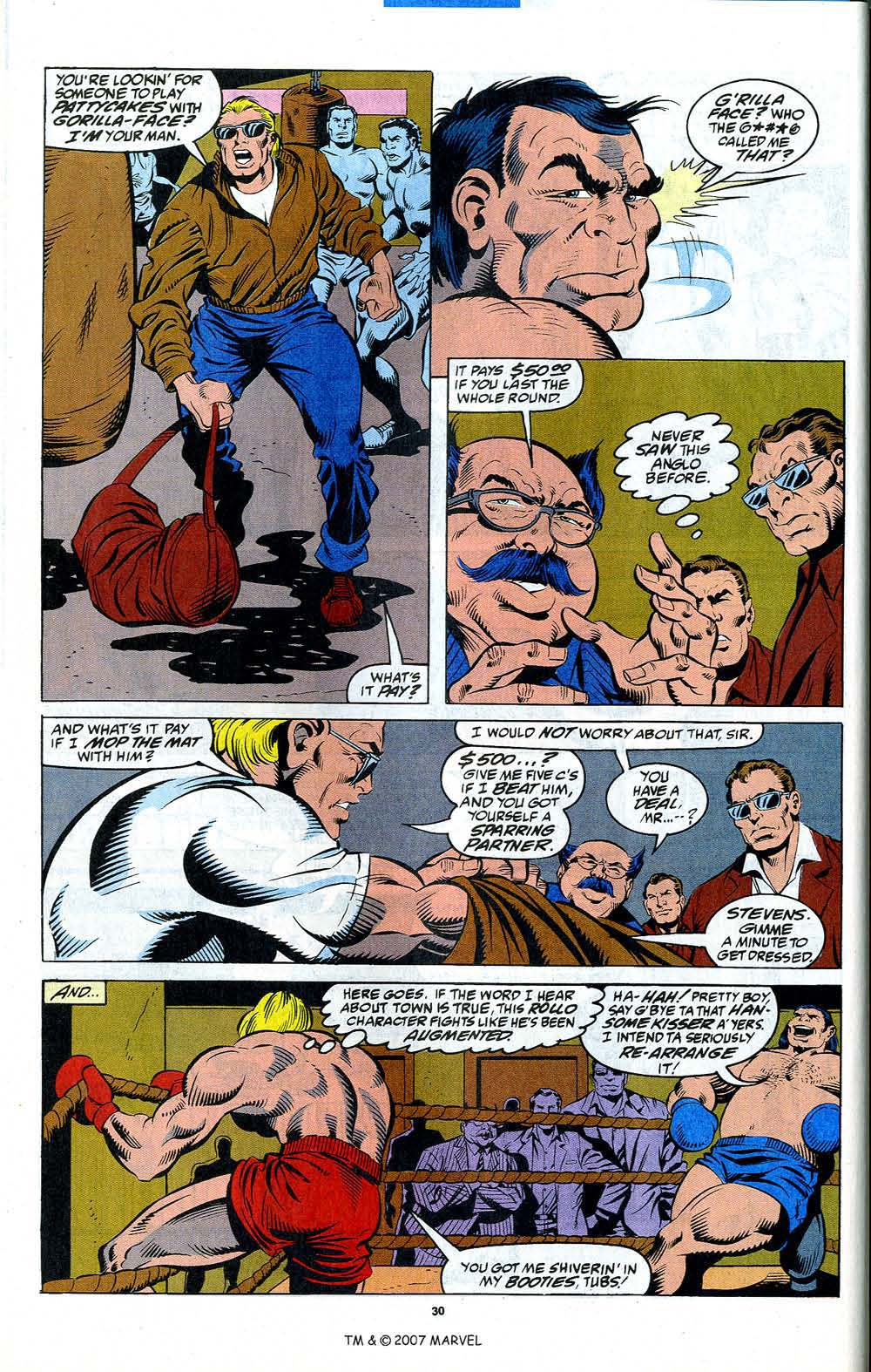 Read online Captain America (1968) comic -  Issue # _Annual 12 - 32