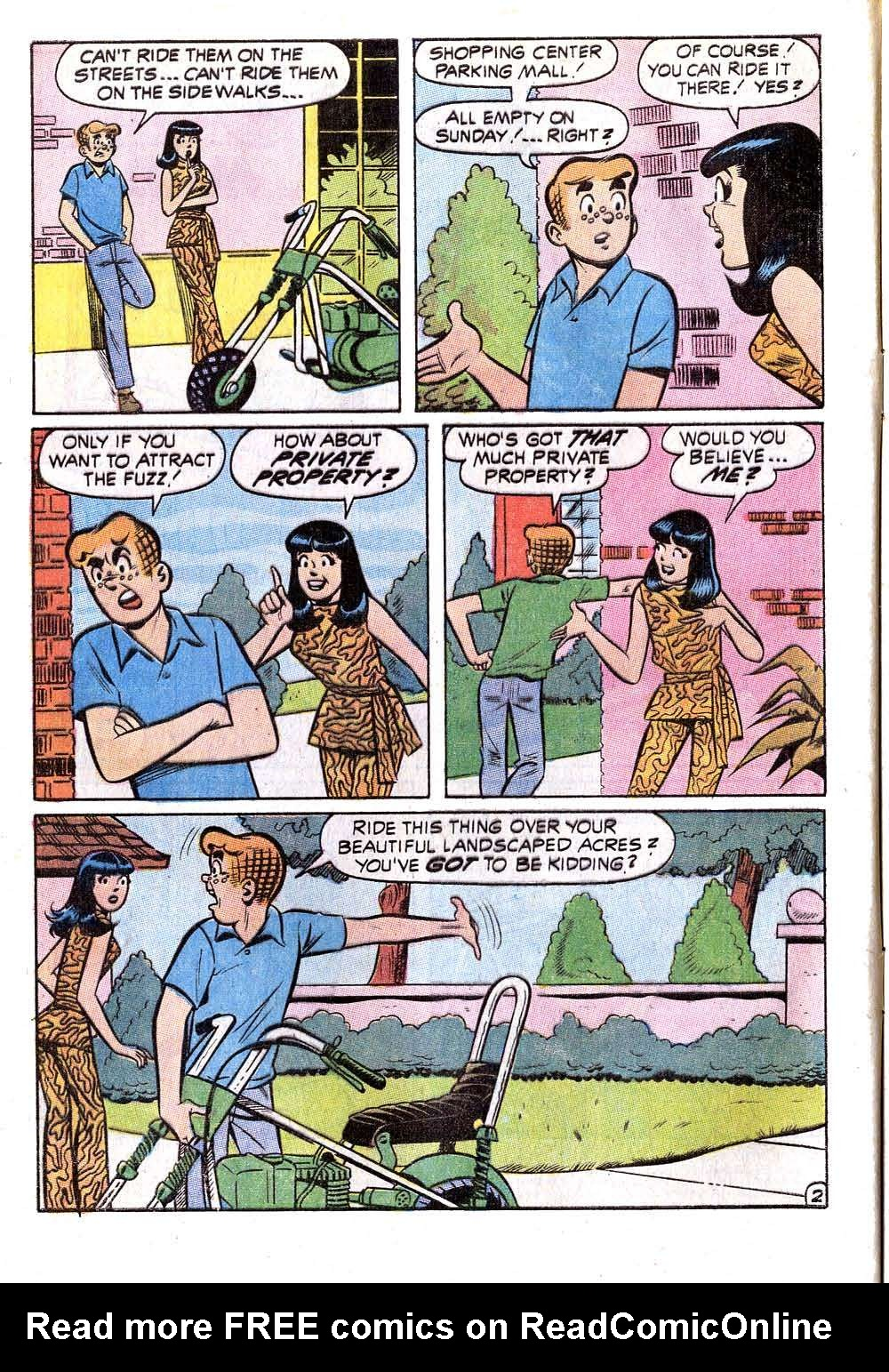 Read online Archie (1960) comic -  Issue #211 - 4