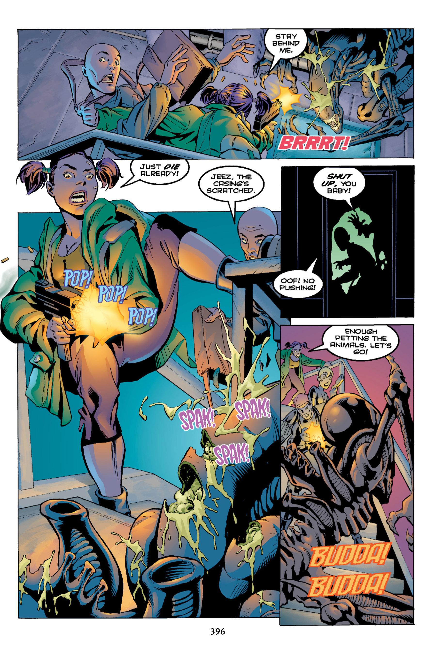 Read online Aliens vs. Predator Omnibus comic -  Issue # _TPB 2 Part 4 - 60