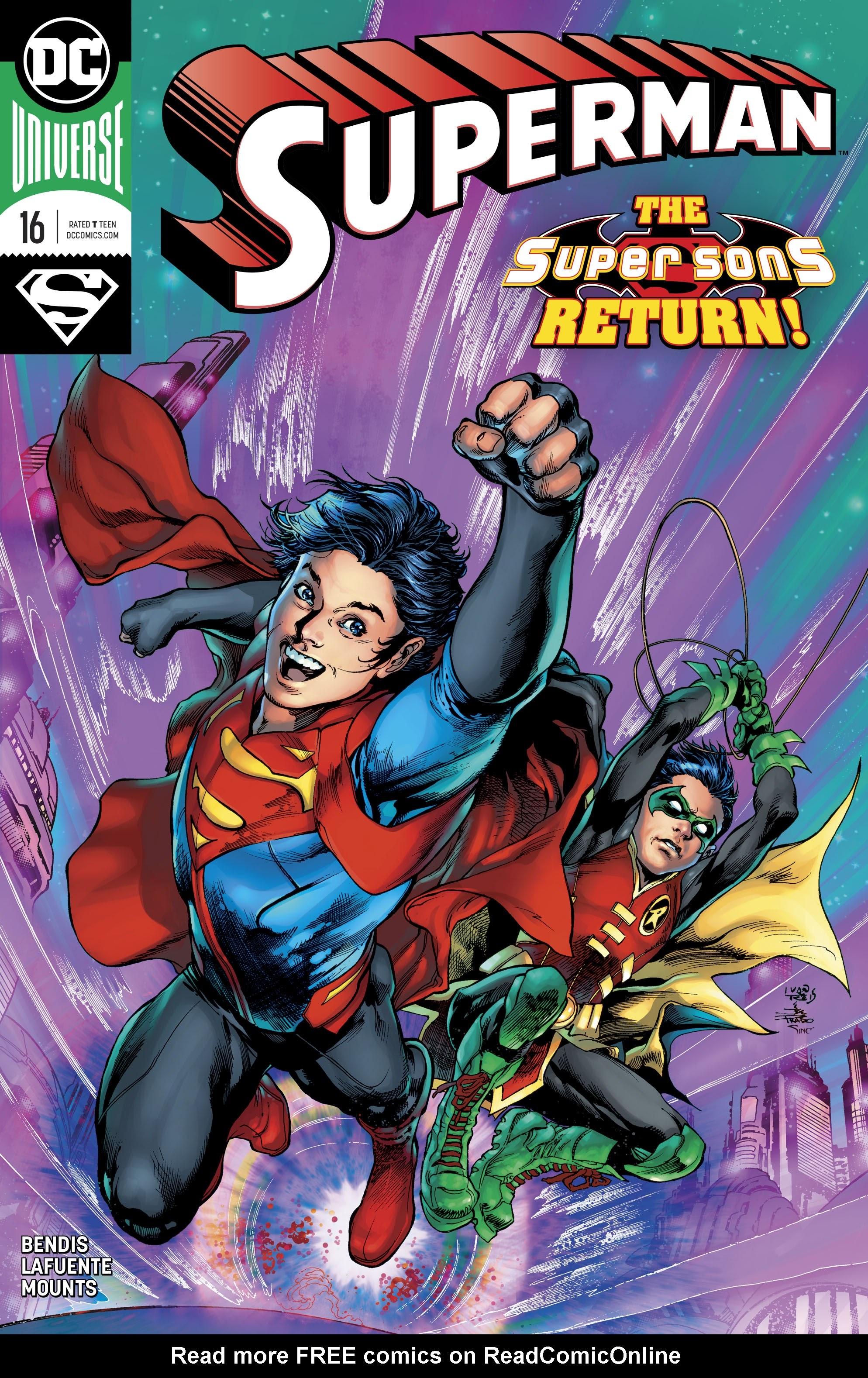 Superman (2018) 16 Page 1