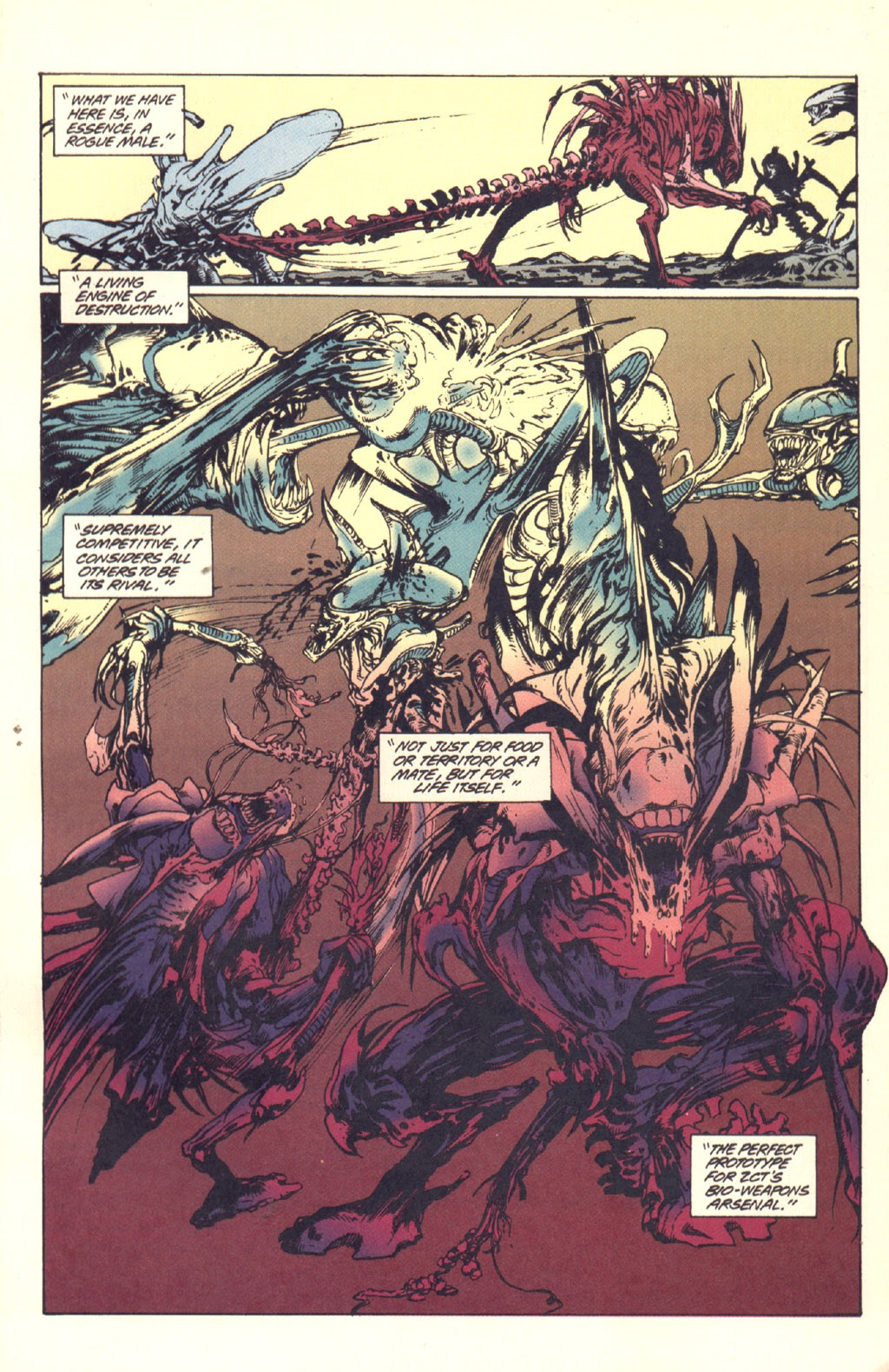 Read online Aliens: Rogue comic -  Issue #1 - 68