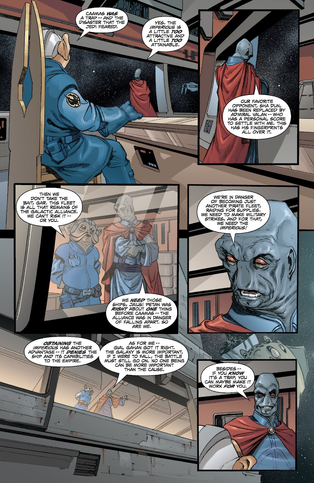 Read online Star Wars Legends: Legacy - Epic Collection comic -  Issue # TPB 2 (Part 1) - 23