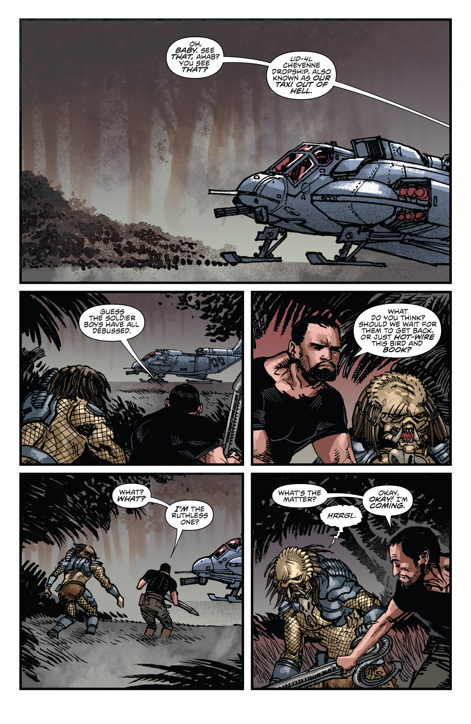 Read online Aliens: Life And Death comic -  Issue #3 - 9