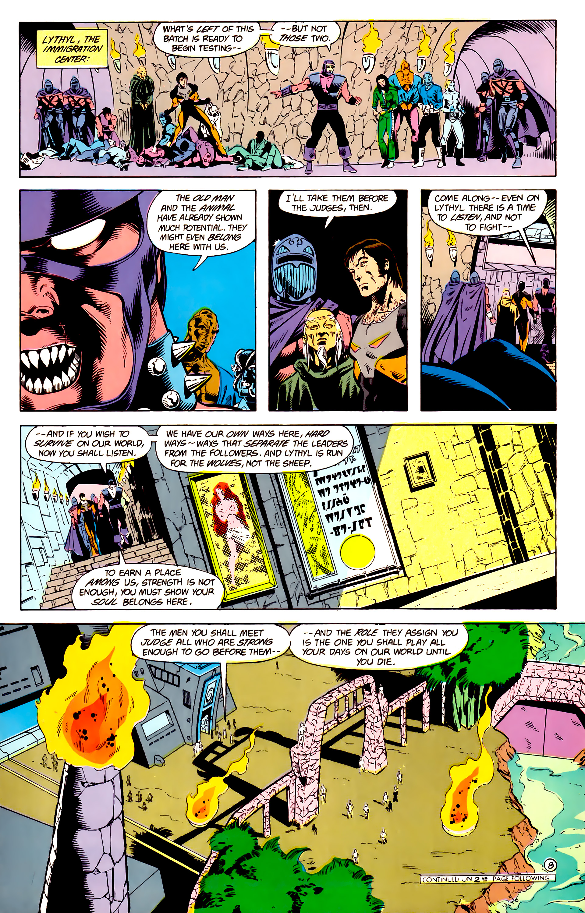 Legion of Super-Heroes (1984) 13 Page 9