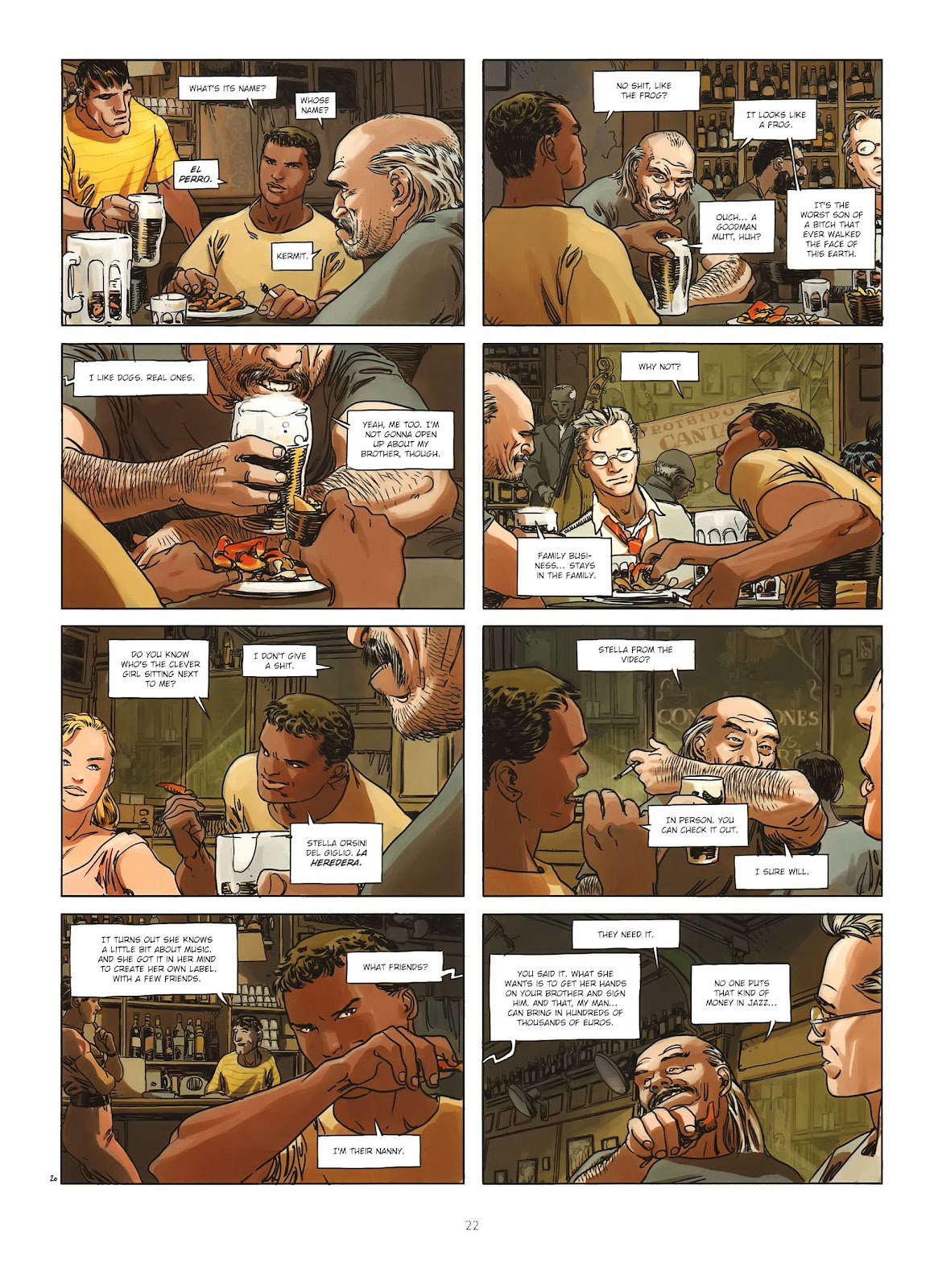 Read online Cutting Edge (2013) comic -  Issue #1 - 20