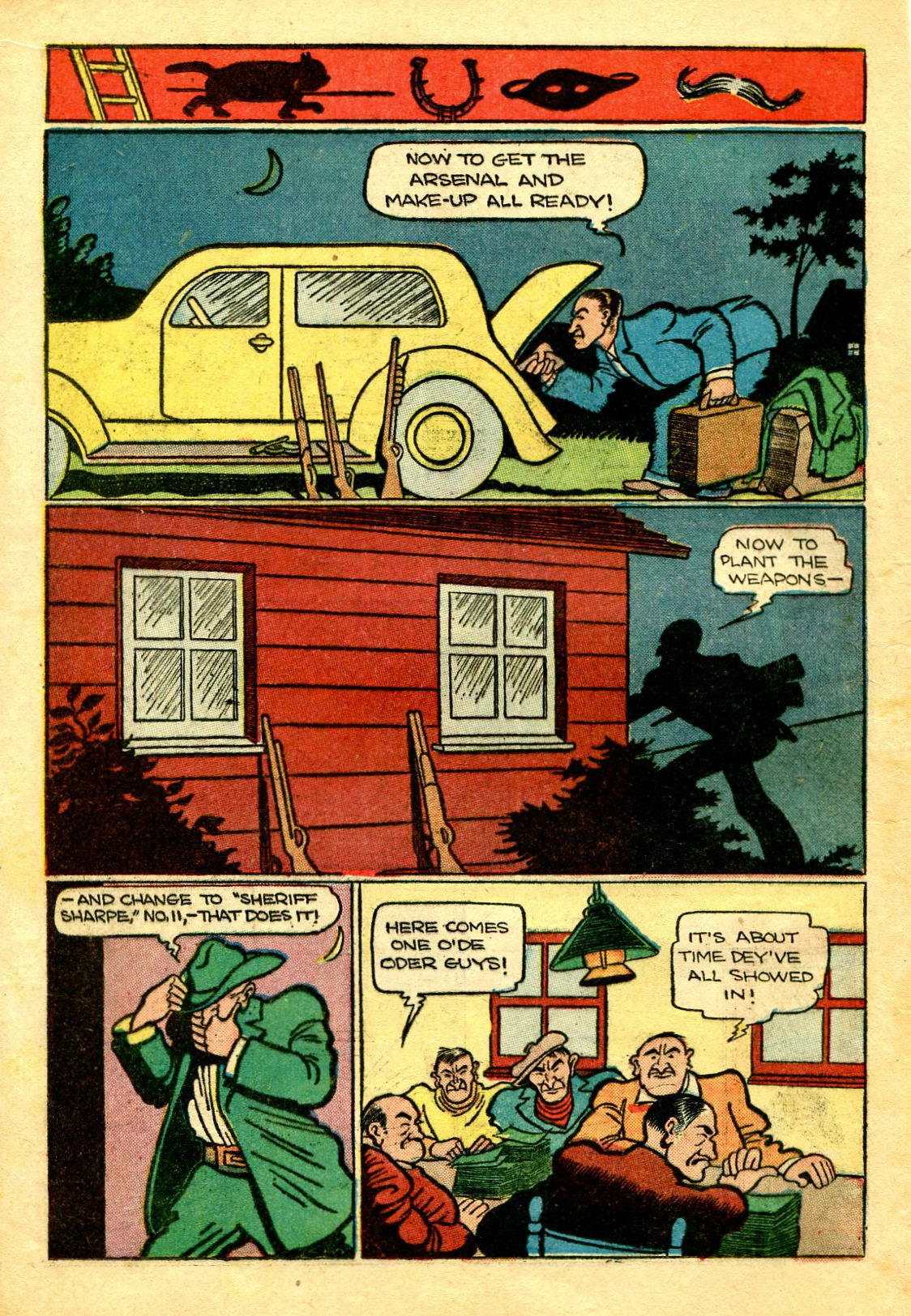 Read online Shadow Comics comic -  Issue #43 - 28