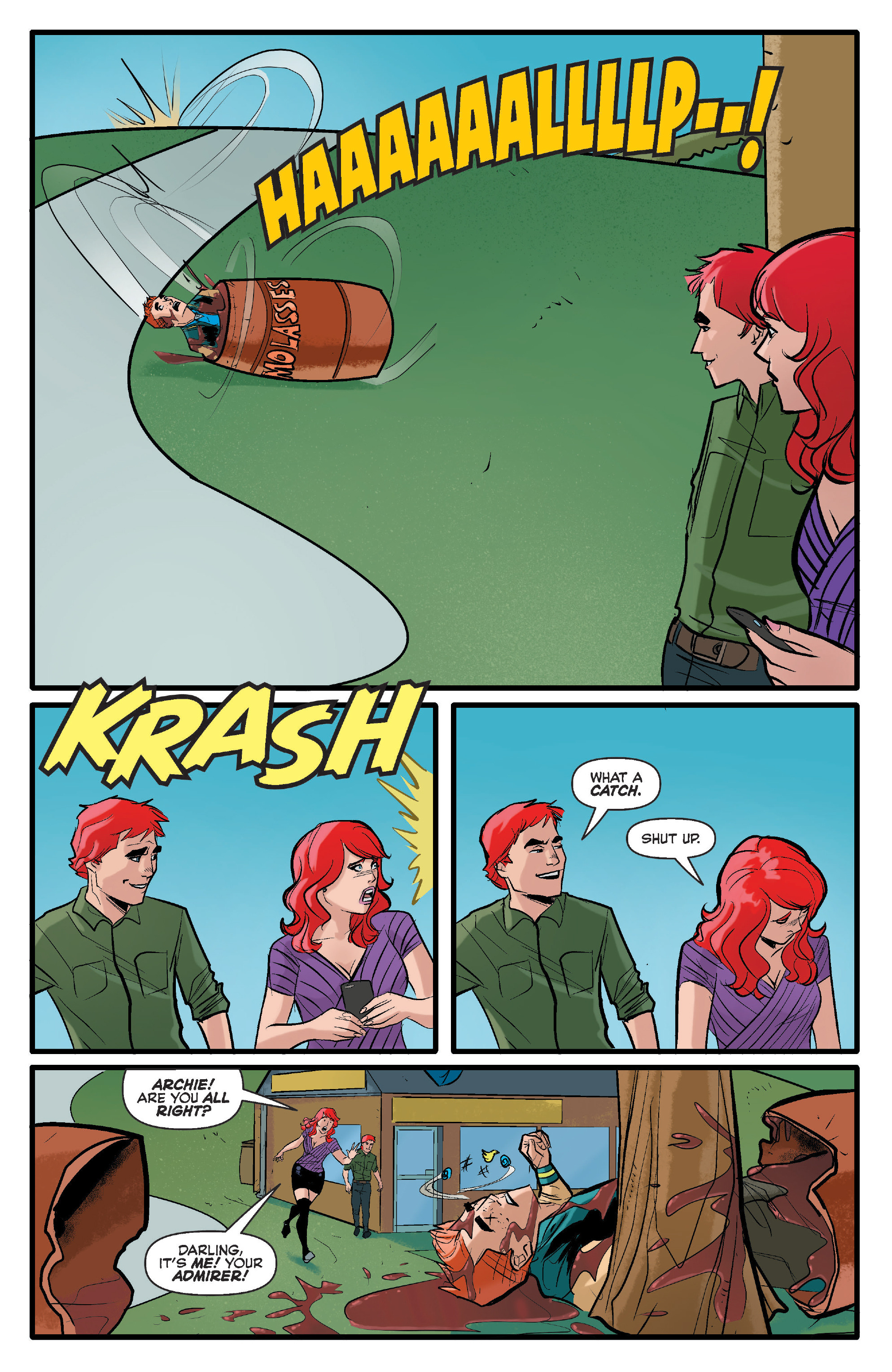 Read online Archie (2015) comic -  Issue #17 - 20