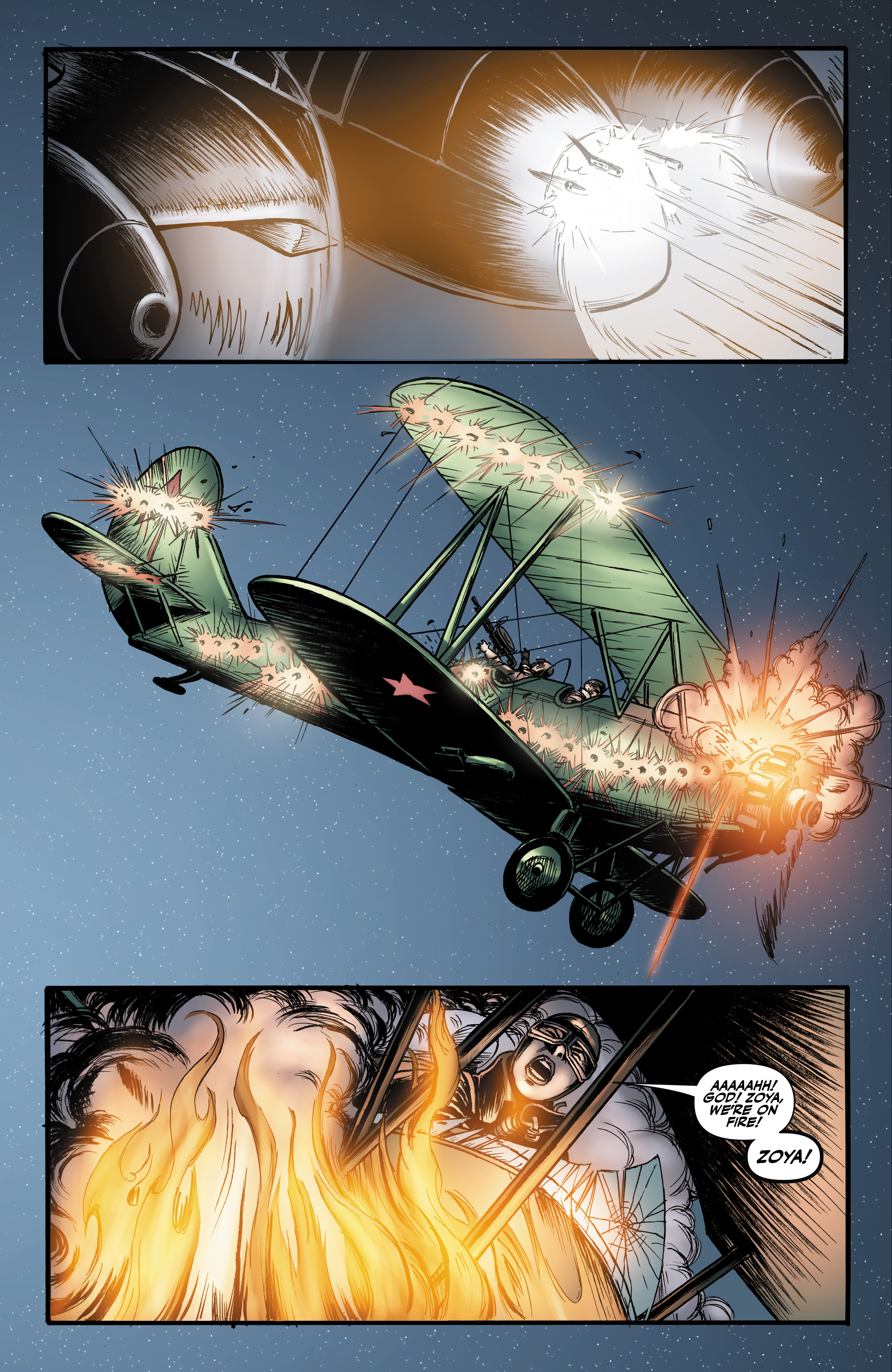 Read online Battlefields: Night Witches comic -  Issue # TPB - 62