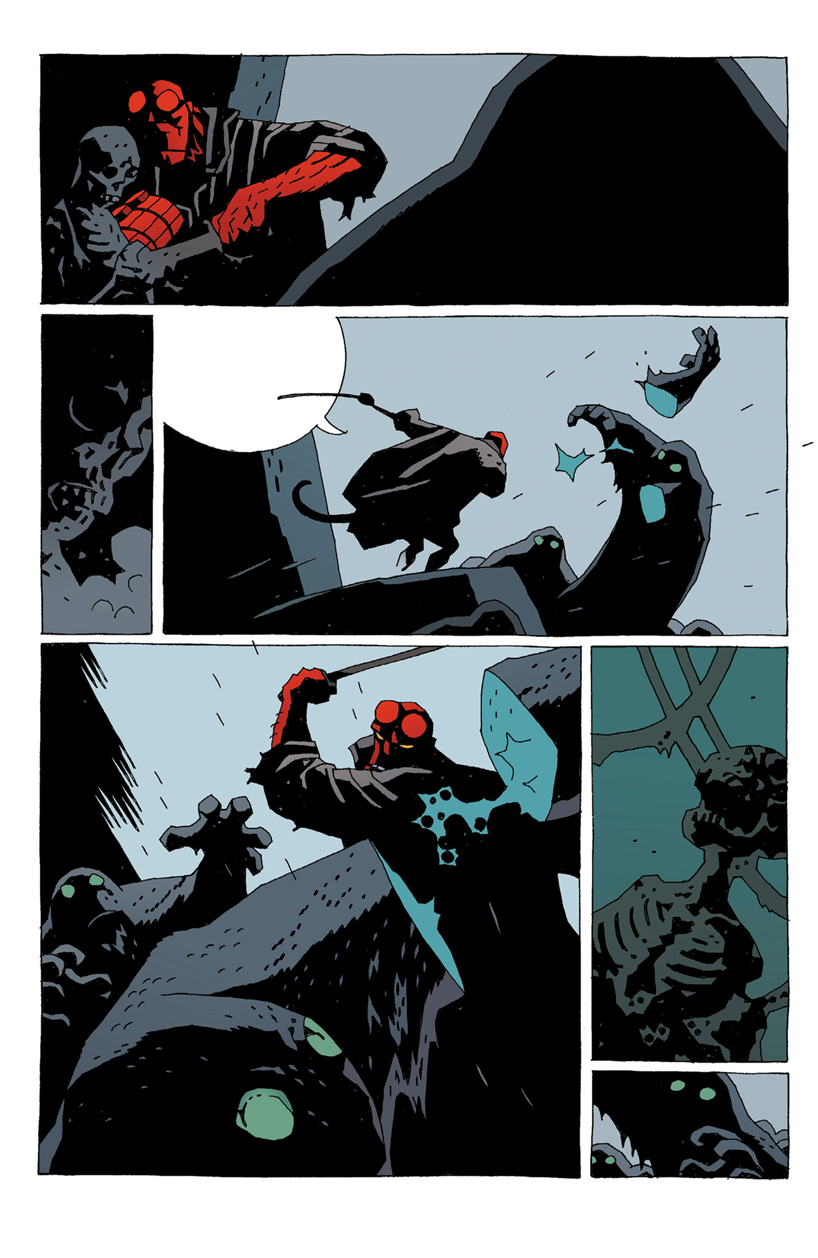Read online Hellboy: Strange Places comic -  Issue # TPB - 140