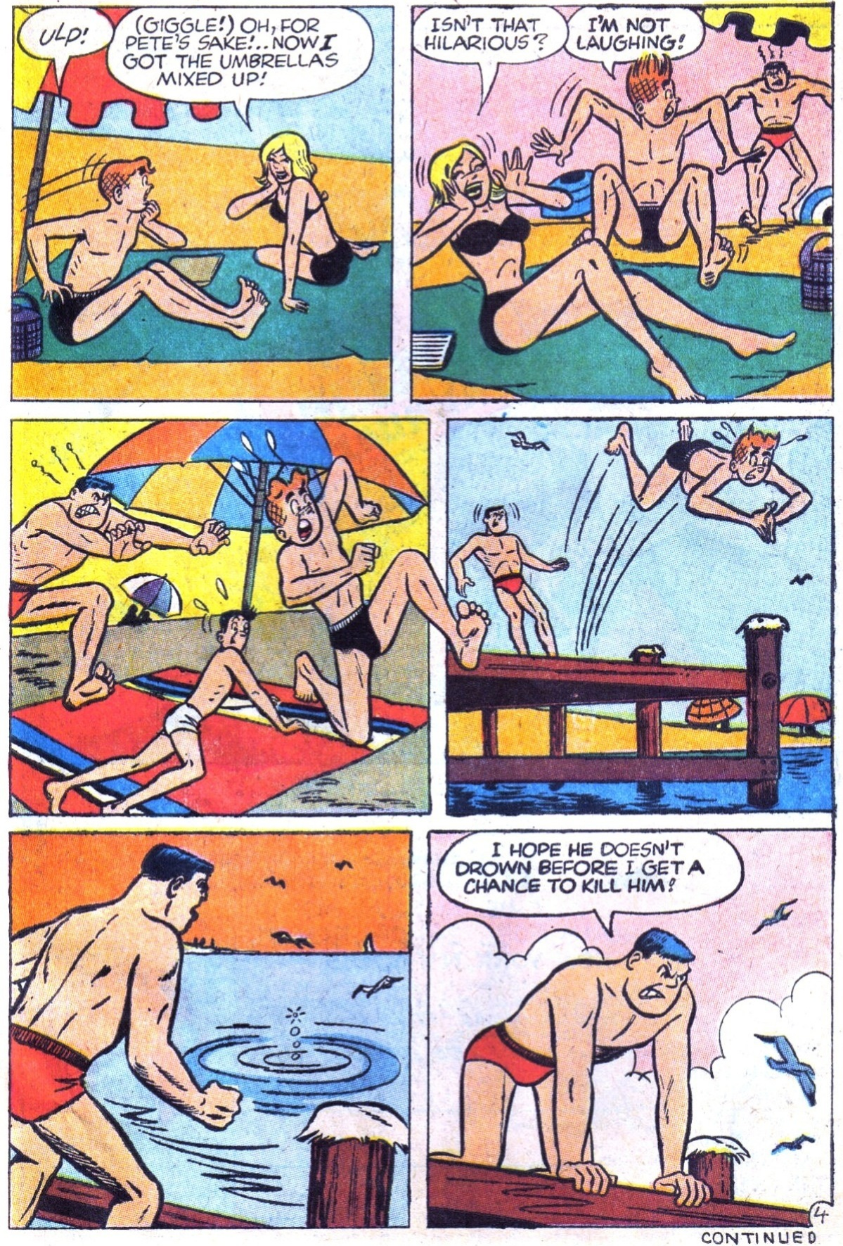 Read online Archie (1960) comic -  Issue #158 - 15
