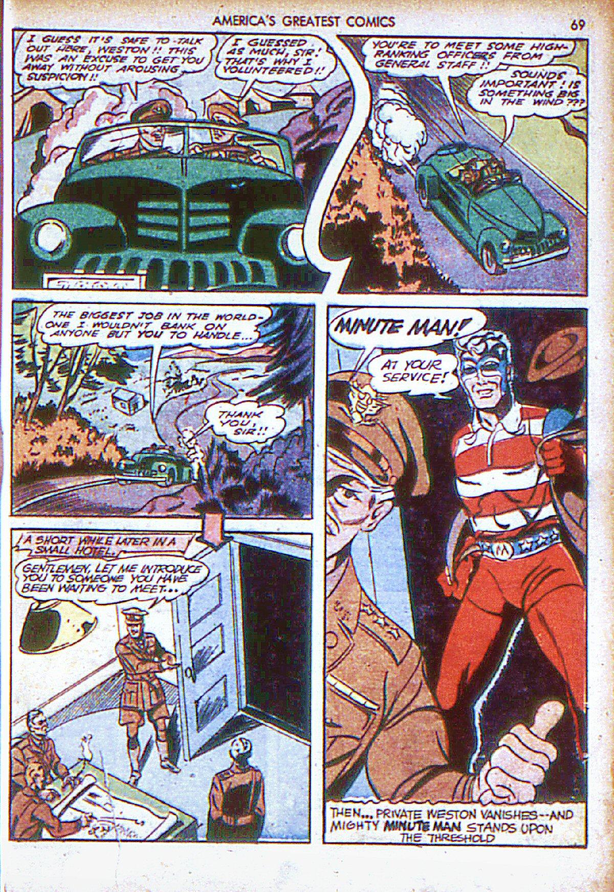 Read online America's Greatest Comics comic -  Issue #6 - 70