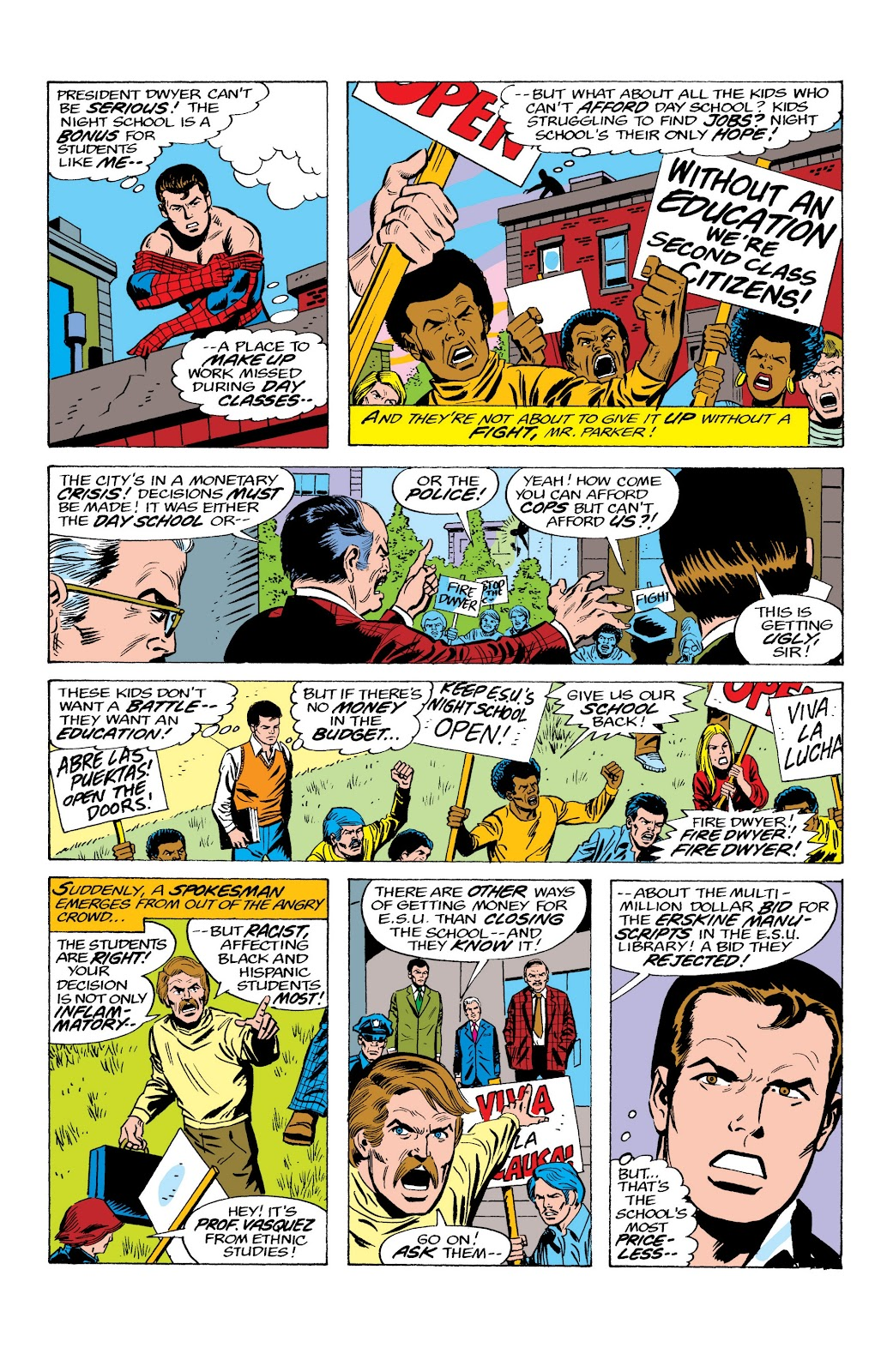 Read online Marvel Masterworks: The Spectacular Spider-Man comic -  Issue # TPB (Part 2) - 40