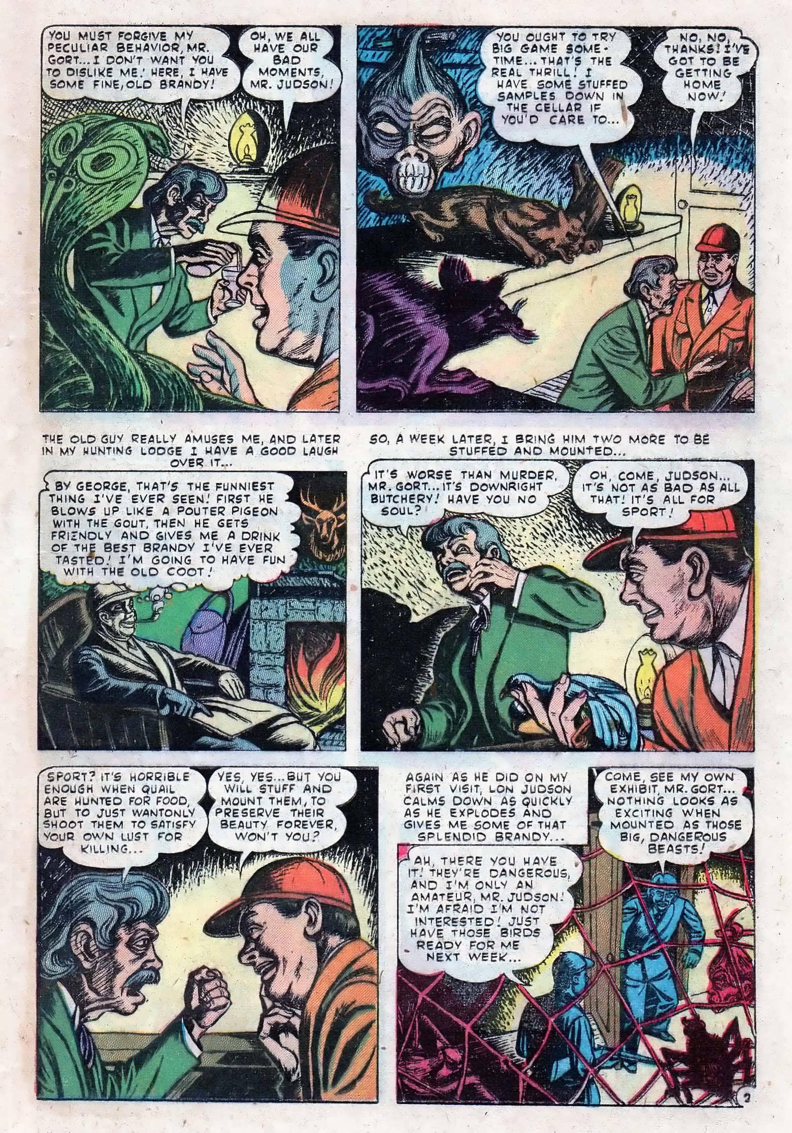 Read online Adventures into Weird Worlds comic -  Issue #10 - 22