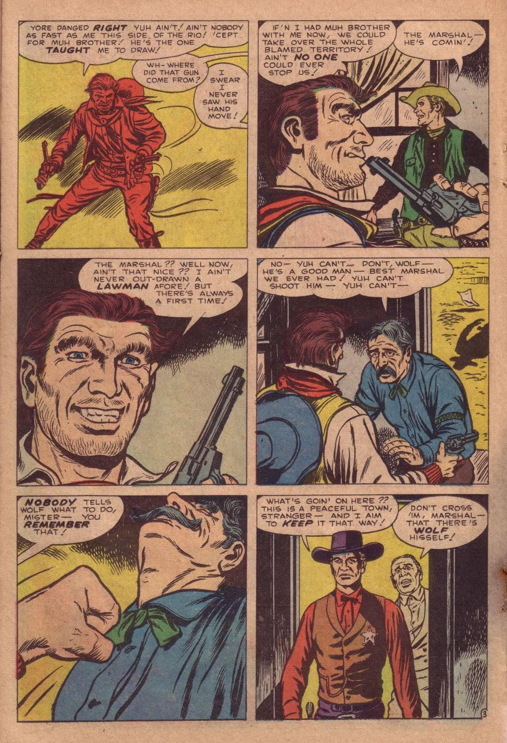 Gunsmoke Western issue 67 - Page 22