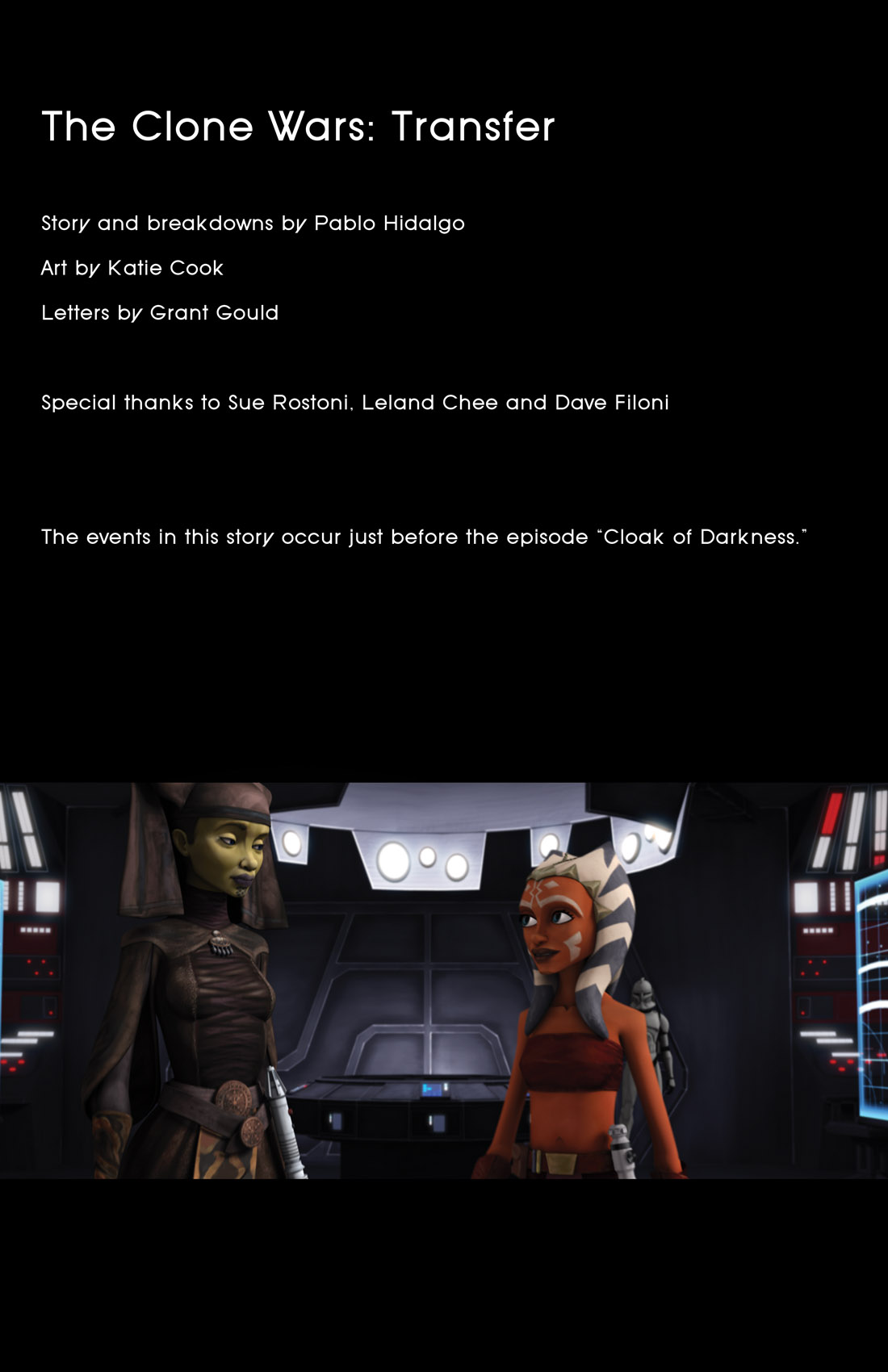 Read online Star Wars: Tales From The Clone Wars comic -  Issue # TPB - 61
