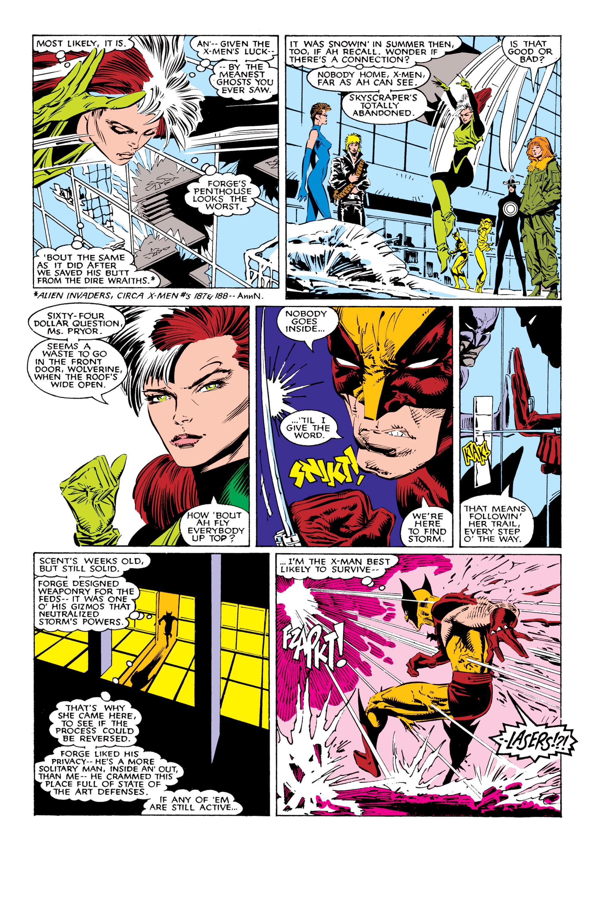 Read online Uncanny X-Men (1963) comic -  Issue #225 - 14
