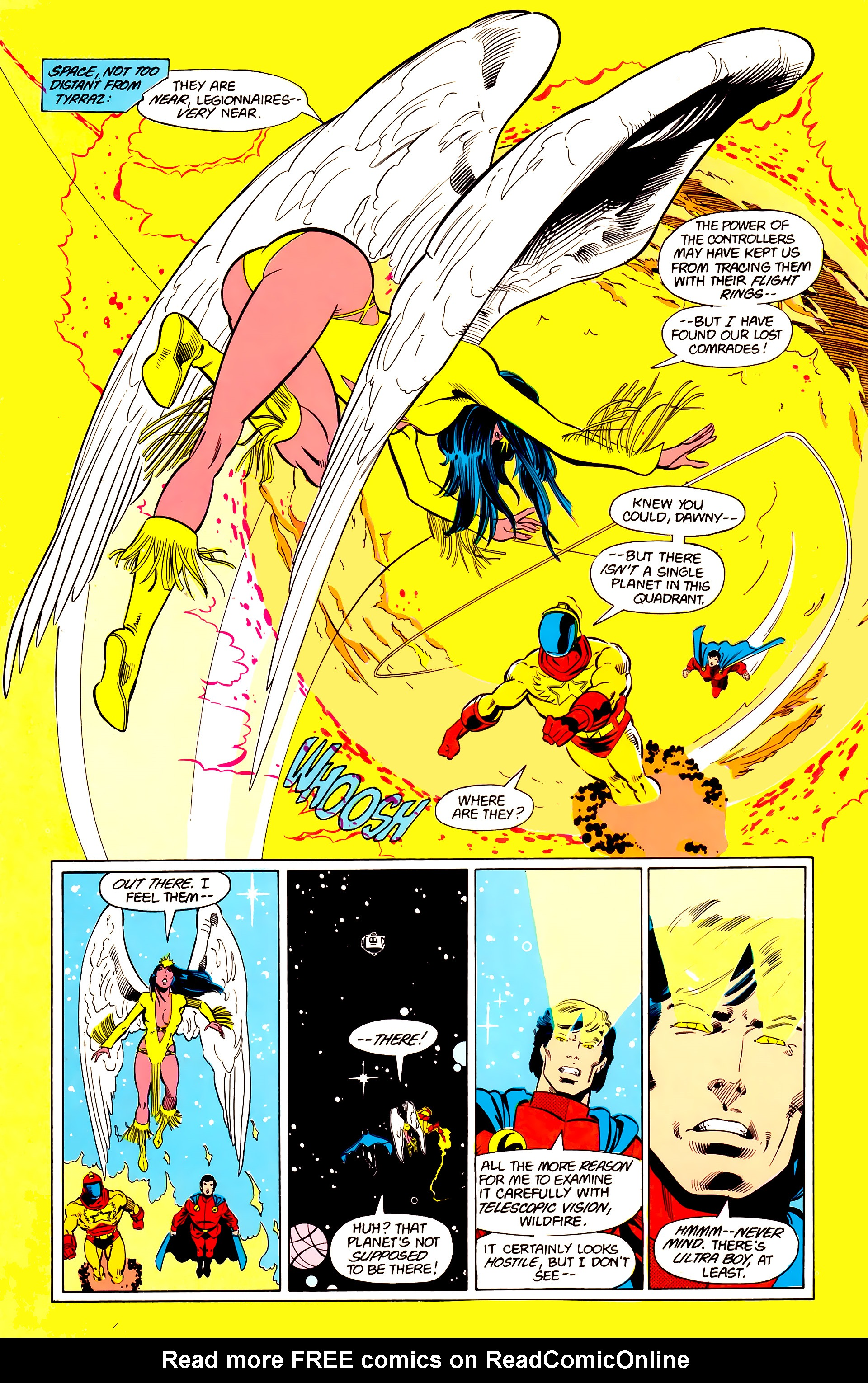 Legion of Super-Heroes (1984) 20 Page 17