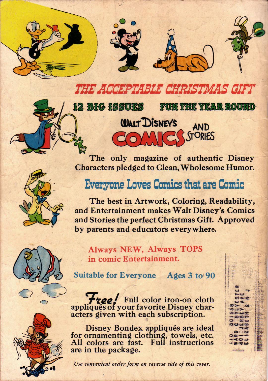 Walt Disneys Comics and Stories 112 Page 52